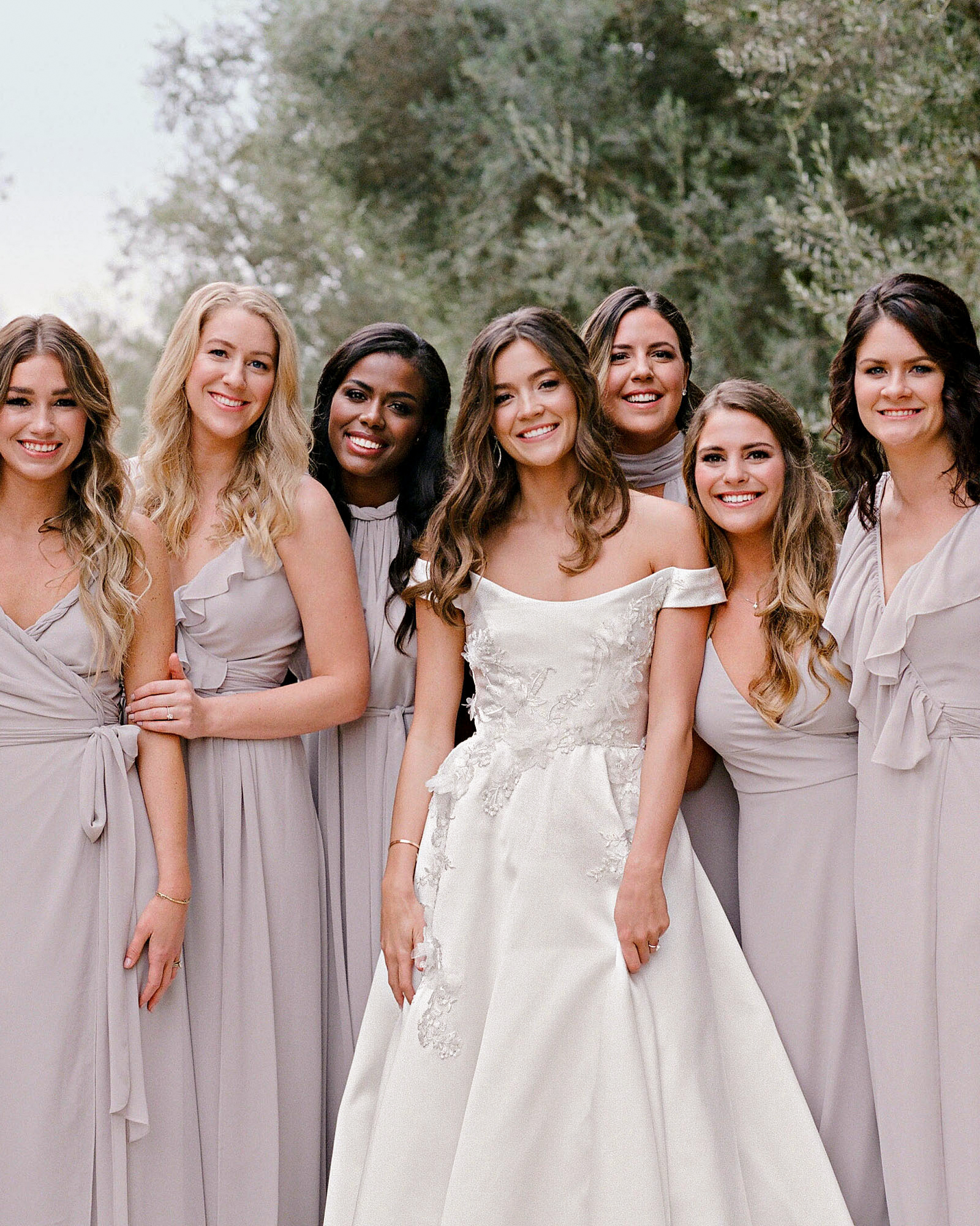 12 New Rules For Dressing Your Bridesmaids Martha Stewart,Cinderella Coming To America Wedding Dress