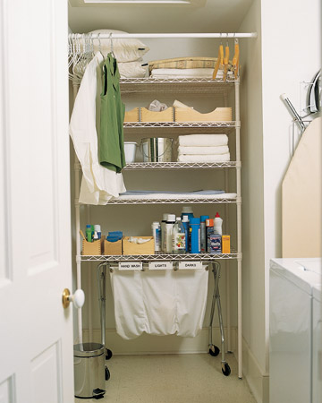 Organizing: Laundry-Room Organizing Ideas - Martha Stewart