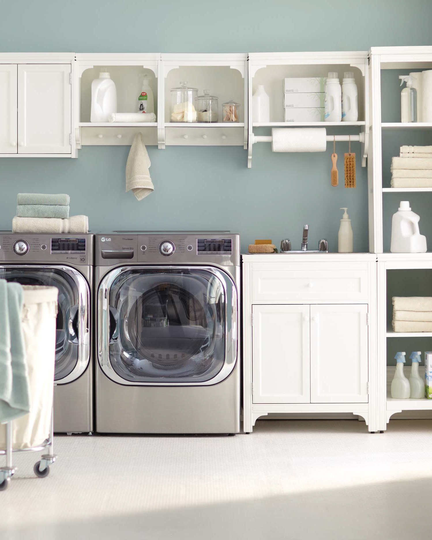 12 Essential Laundry Room Organizing Tips Martha Stewart