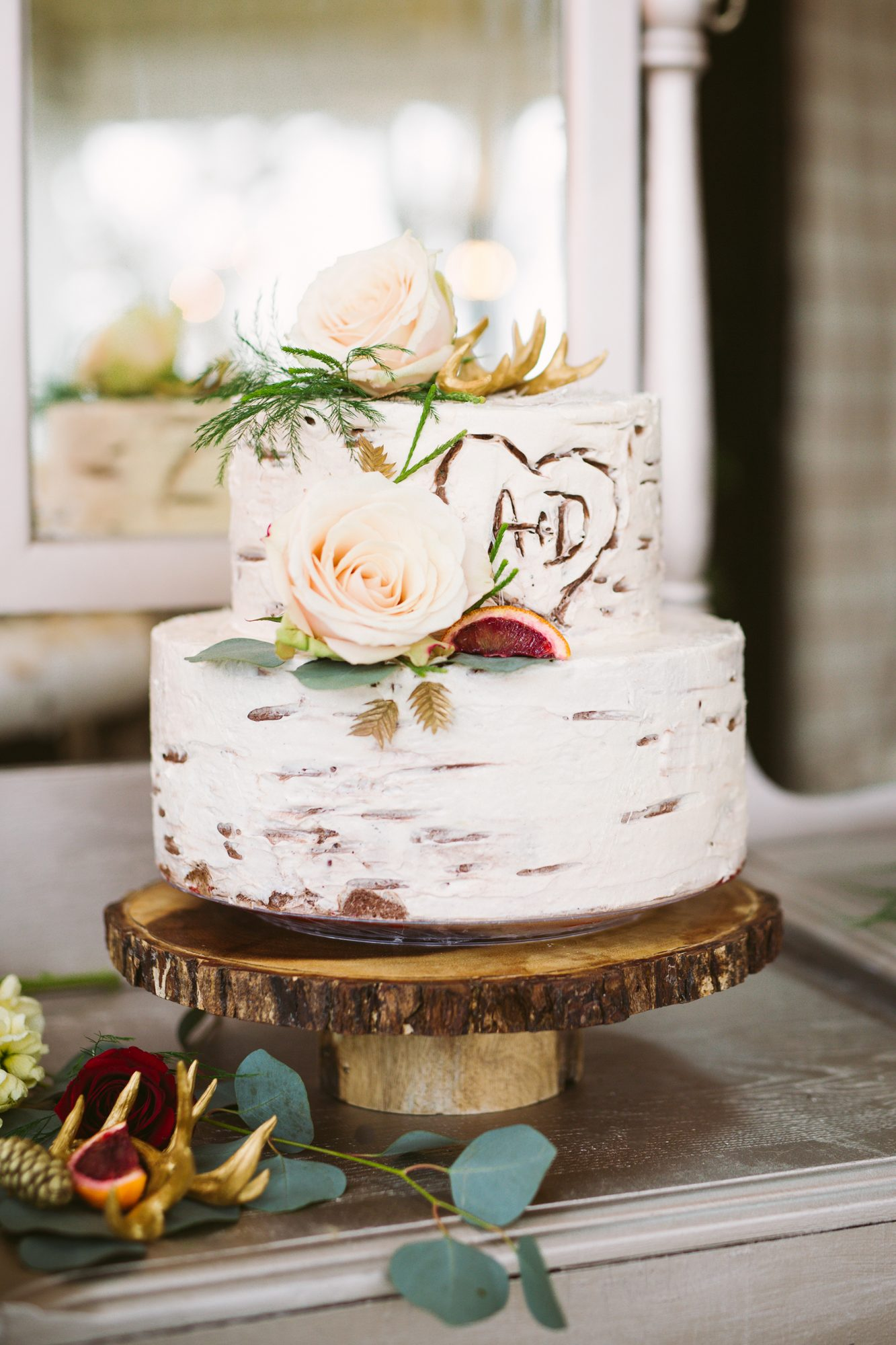 Birch Tree Wedding Cakes Are The Latest Fall Trend Martha Stewart