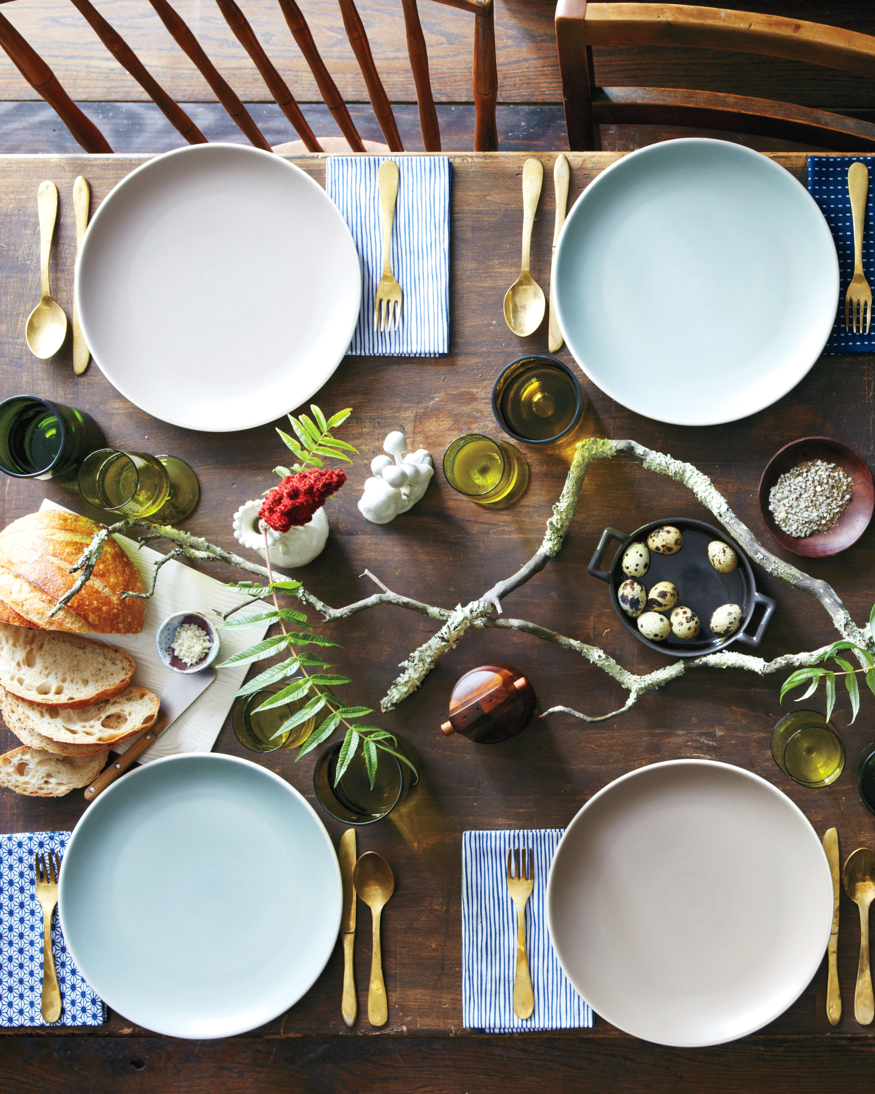 Foraged Tablescape