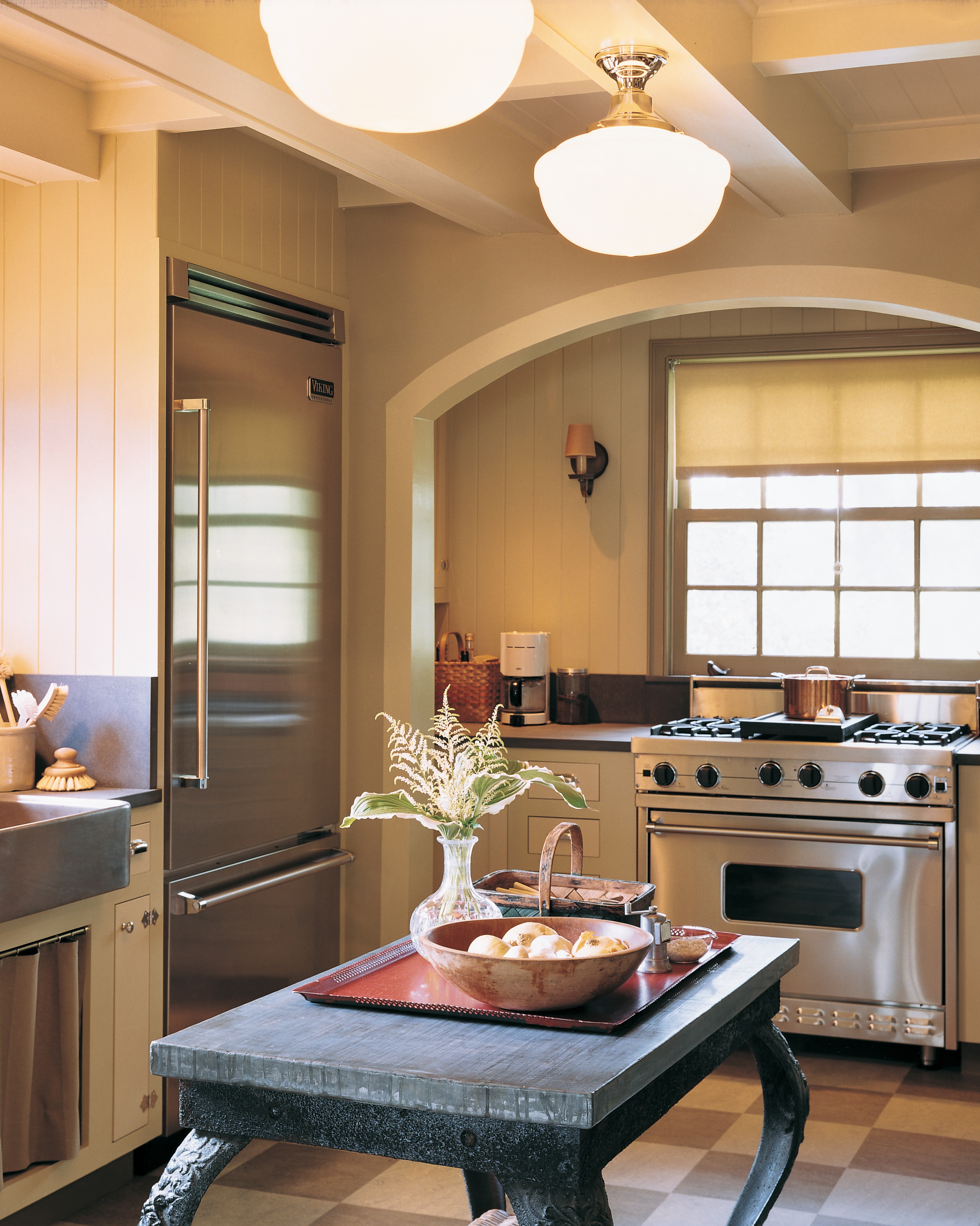 A Major Kitchen Design Makeover with an Updated Sense of Tradition