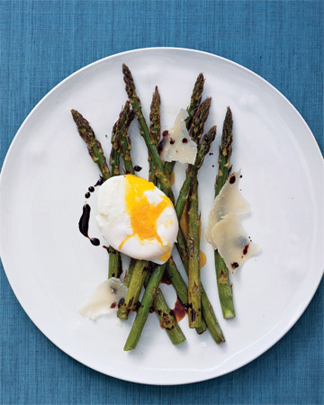 Roasted Asparagus and Eggs