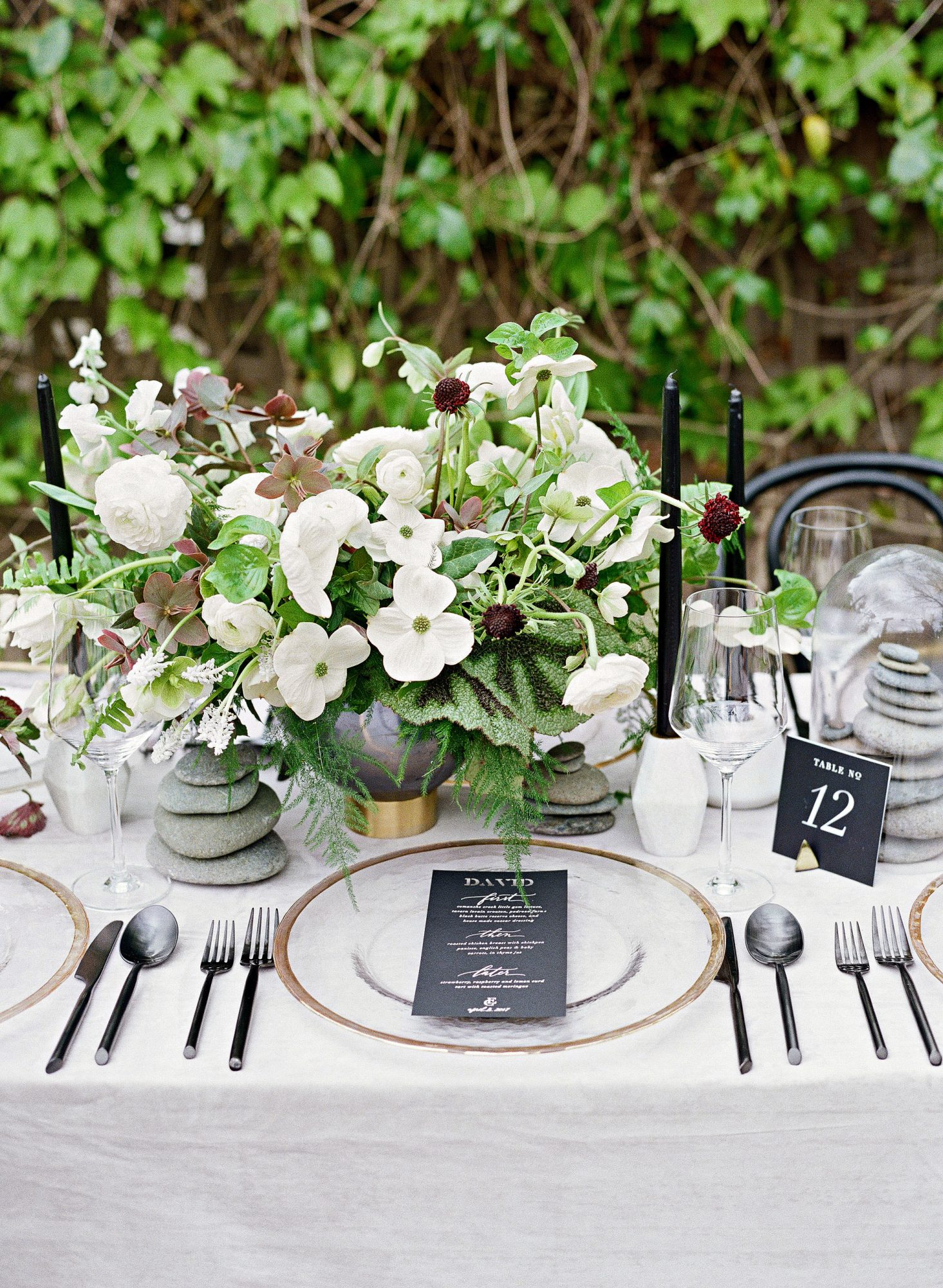 The Prettiest Place Settings From Real Celebrations Martha Stewart