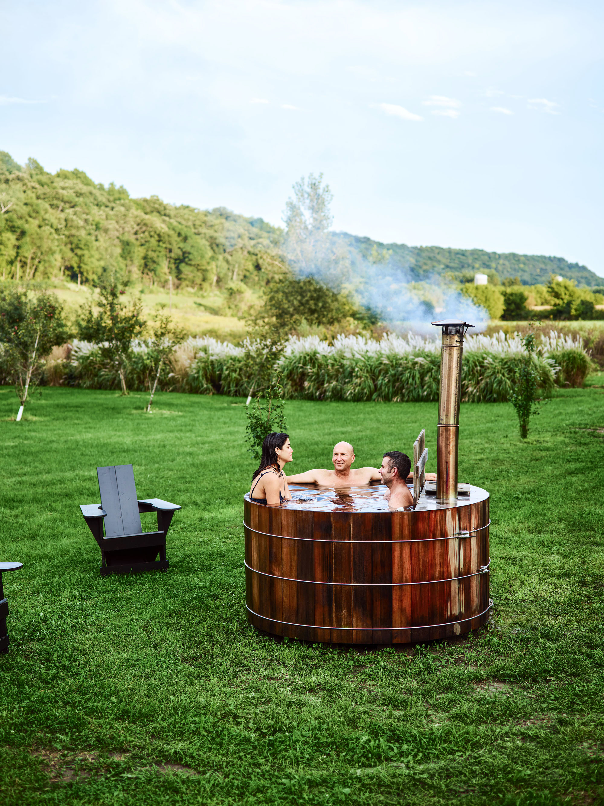 lost creek farm wisconsin hot tub
