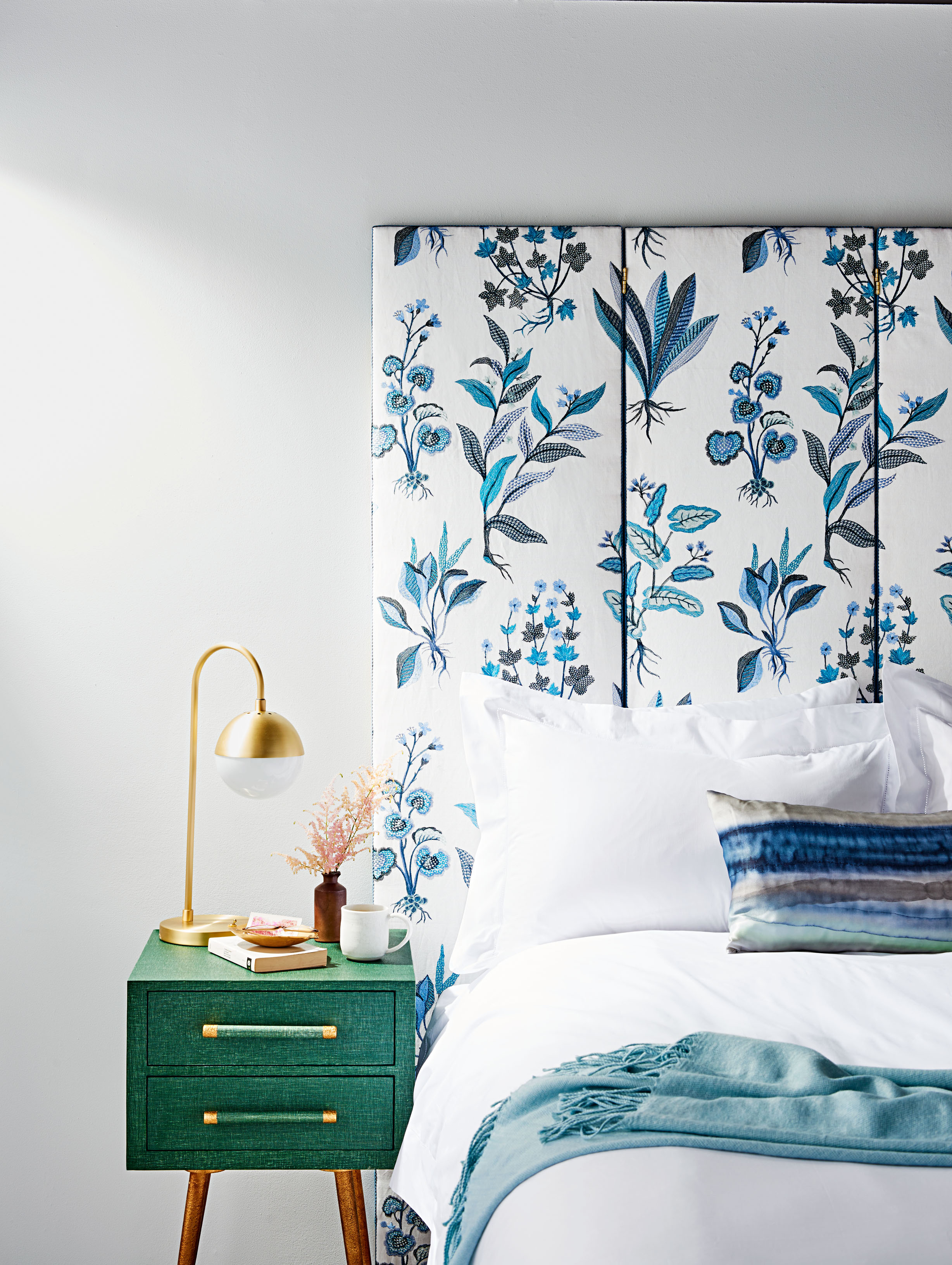 low priced 2364c 29793 11 DIY Headboard Ideas to Give Your Bed a Boost | Martha Stewart