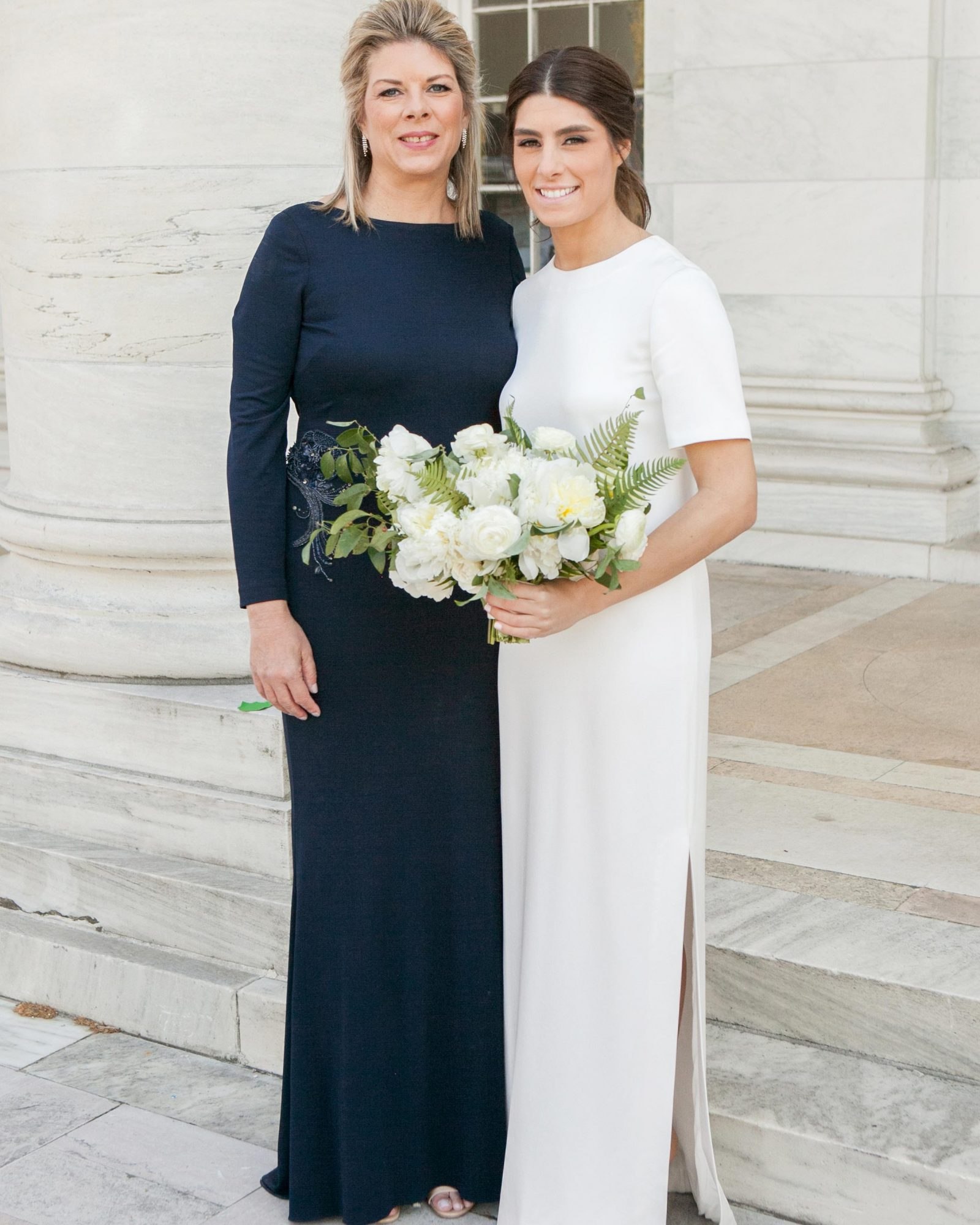 Navy Dresses For Classic Mothers Of The Bride And Groom Martha Stewart