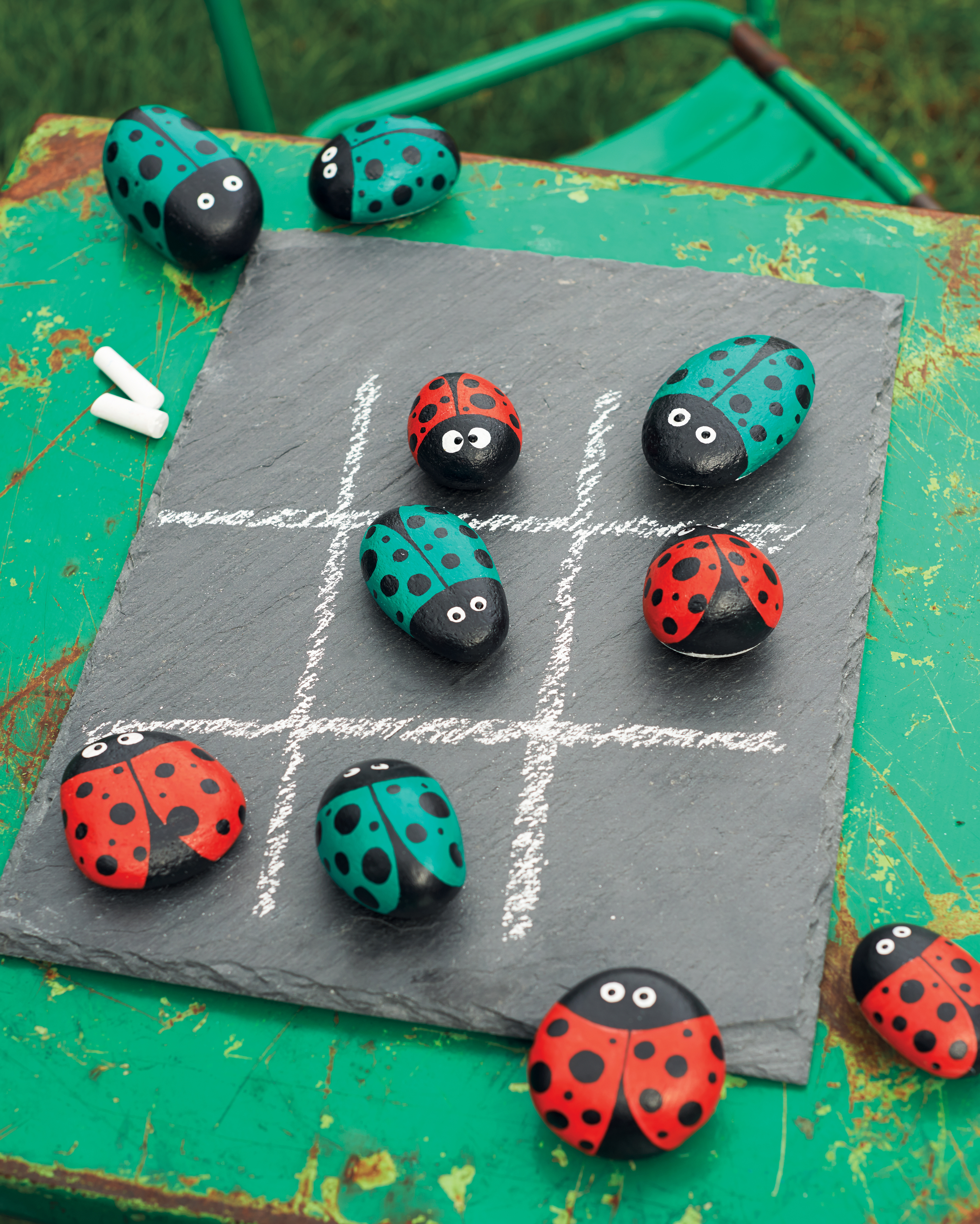 Here S Why You Re Going To See Painted Rocks Hidden Everywhere Martha Stewart
