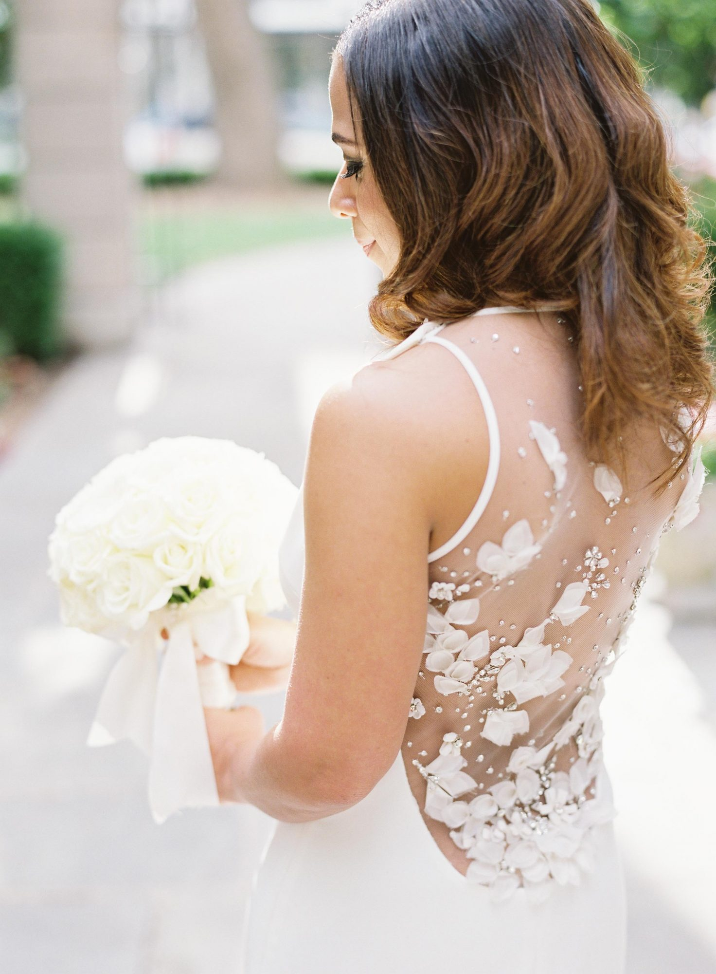 22 Wedding Dresses That Wowed From The Back Martha Stewart
