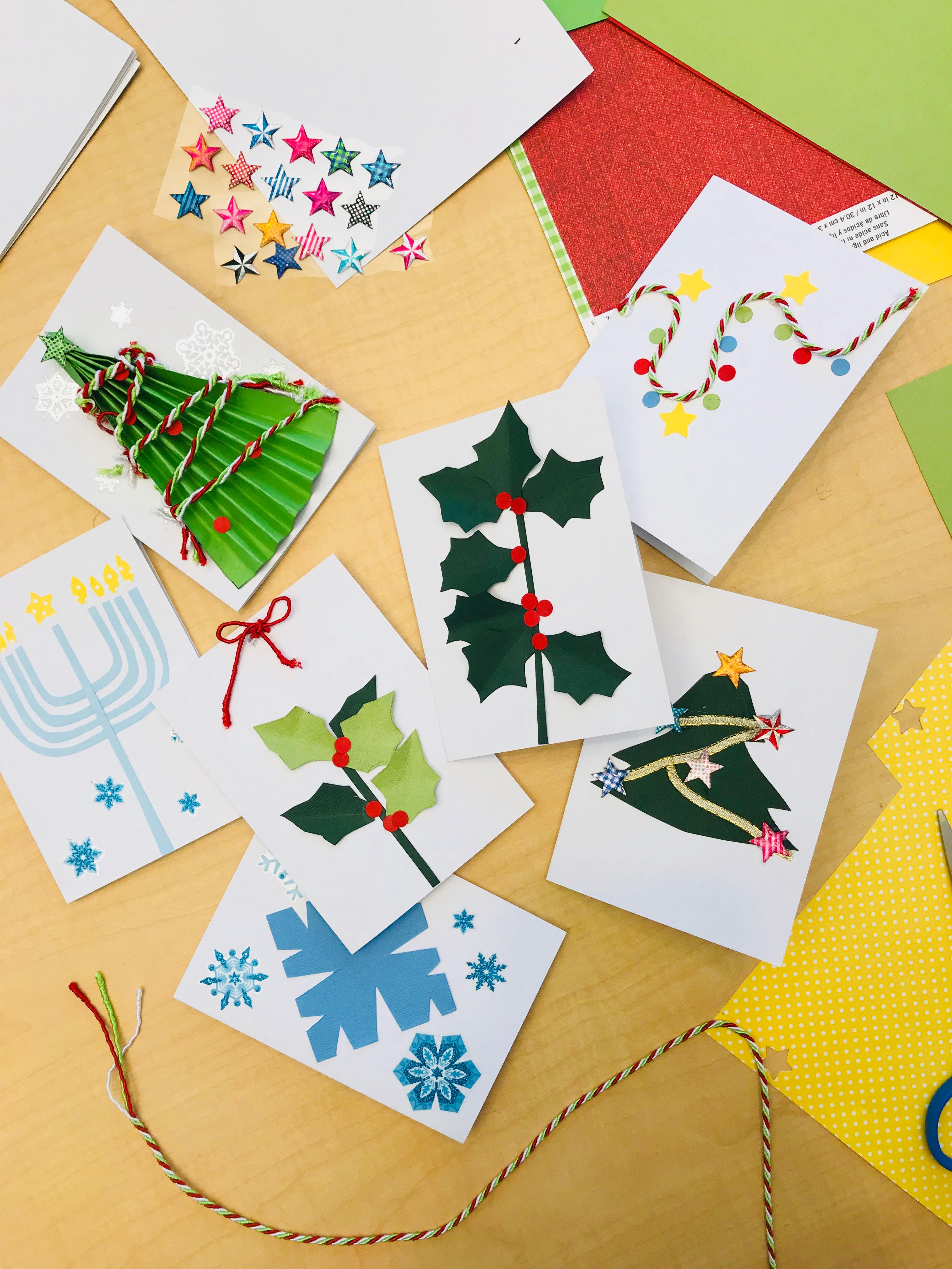 4 Ways You Can Donate Handmade Holiday Cards to Children