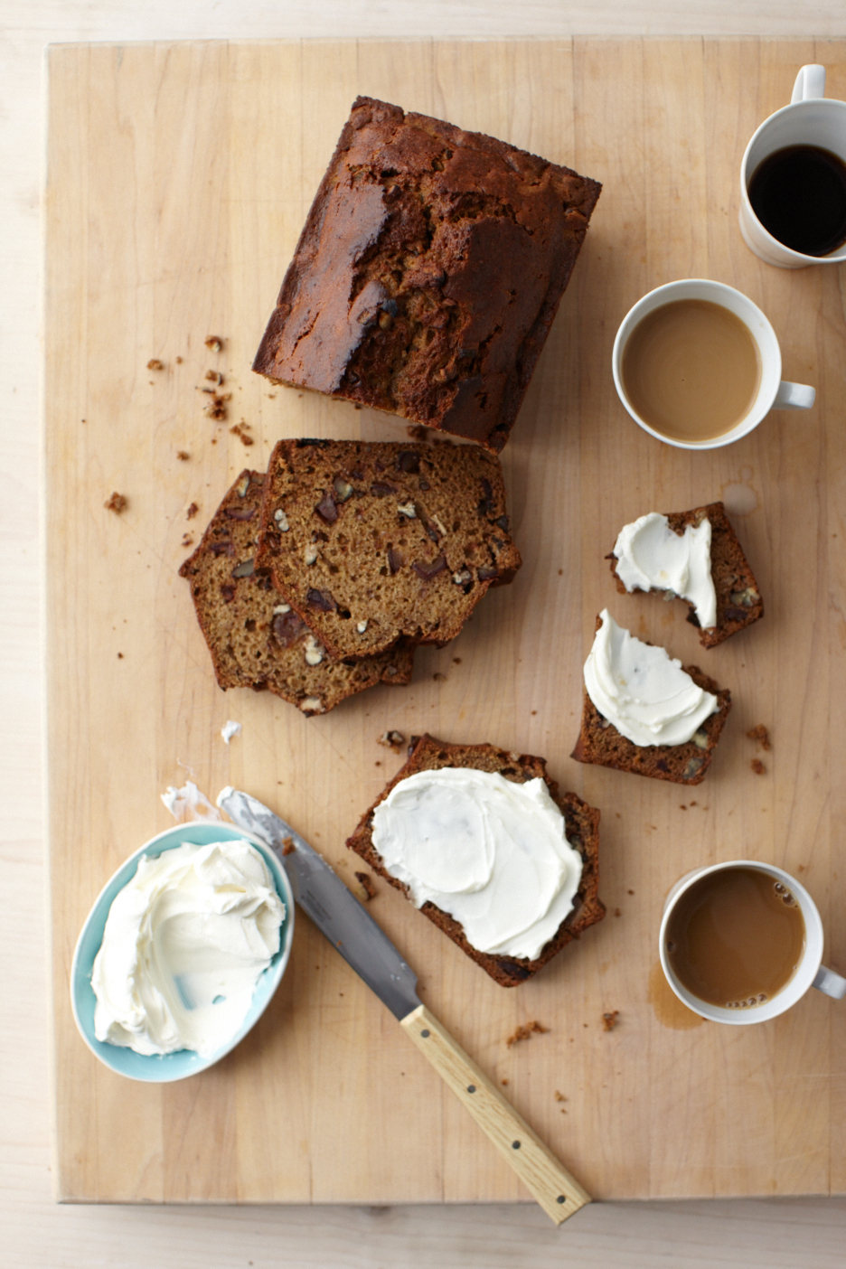 This Sweet, Nutty (And Healthy!) Loaf Is Martha's Favorite Breakfast Bread