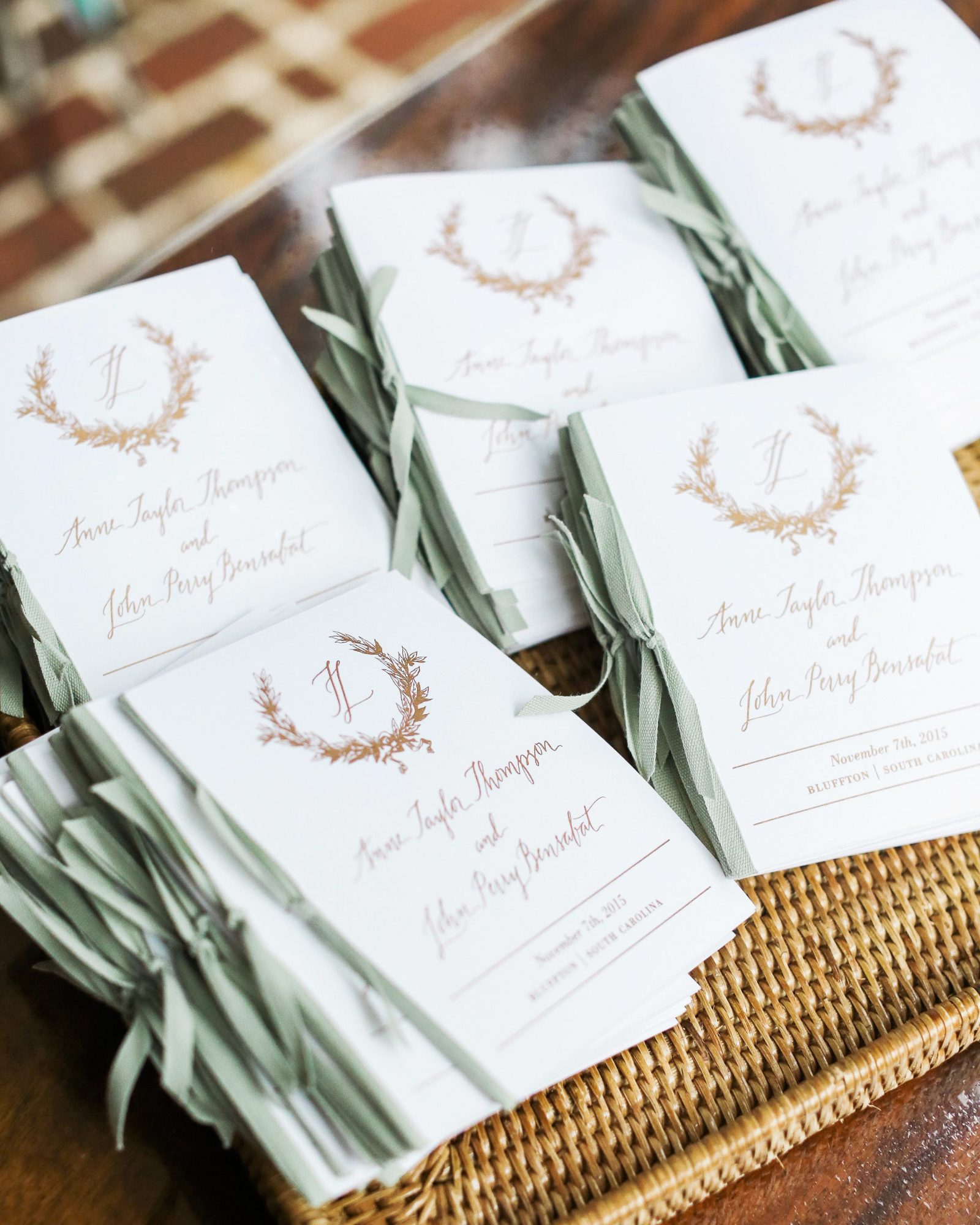 Everything You Need To Include In Your Ceremony Program Martha Stewart
