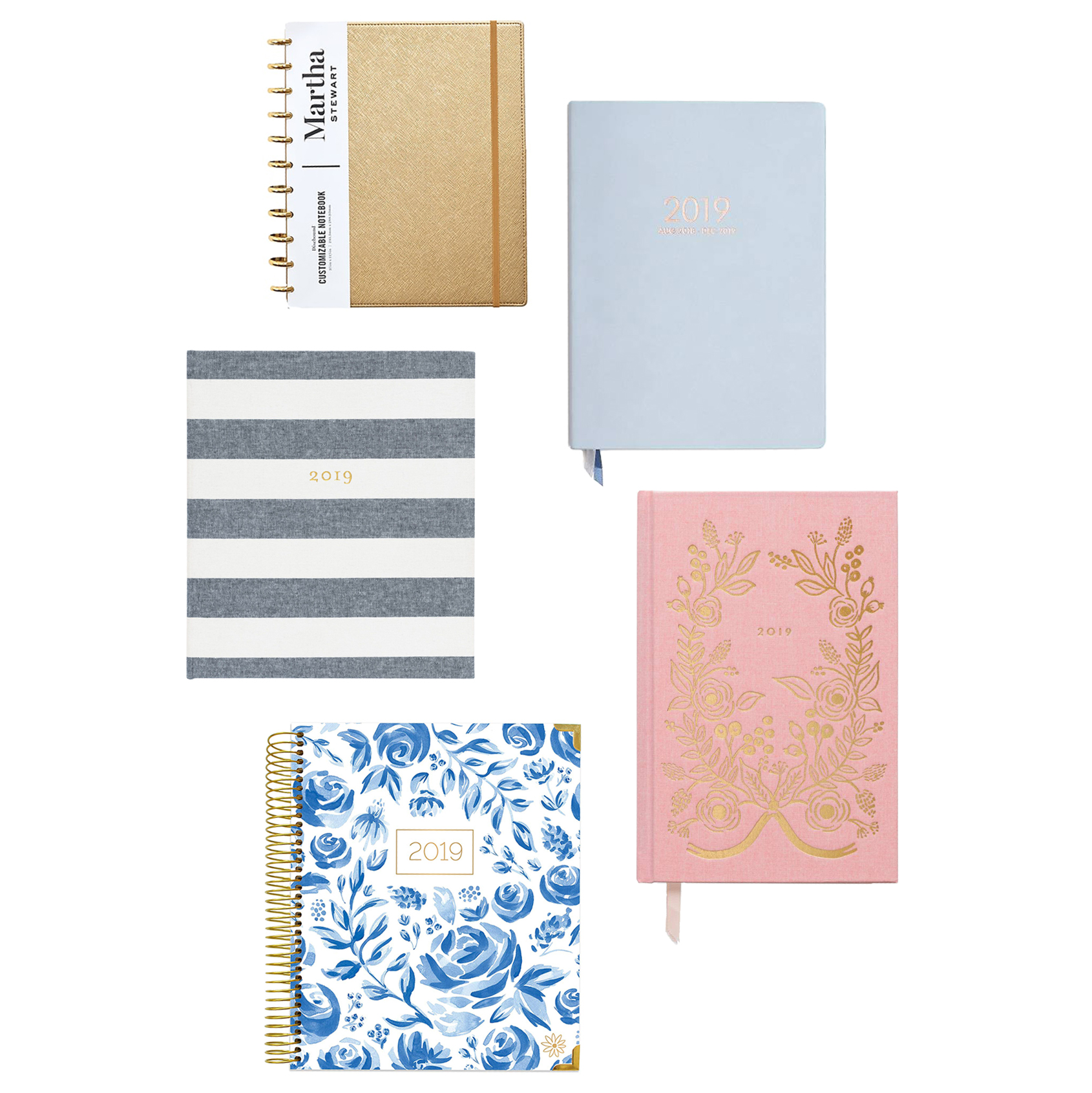 10 Daily Planners to Keep You Better Organized in 2019 | Martha Stewart