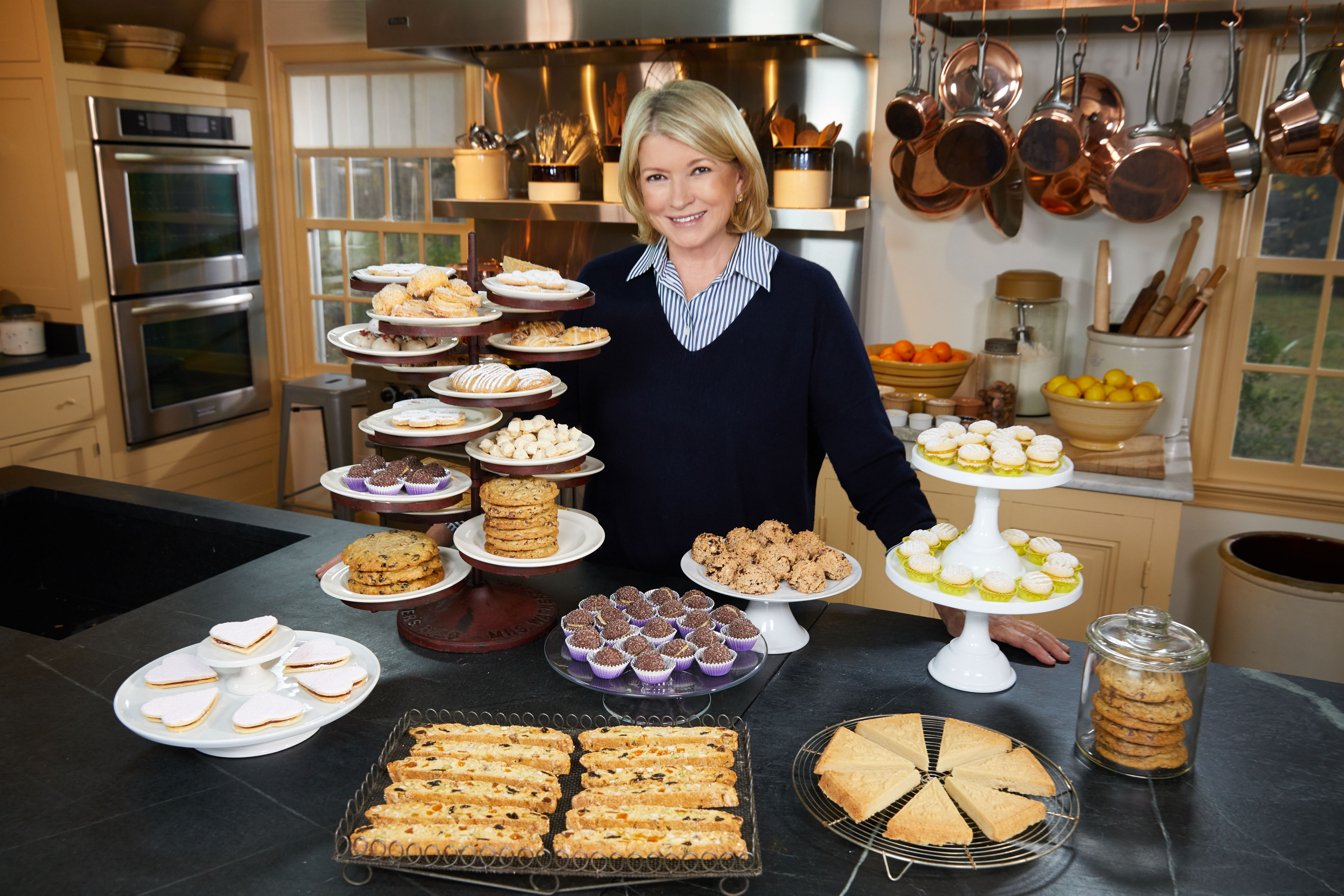 Martha's Making 39 Different Cookies on the New Season of  Martha Bakes