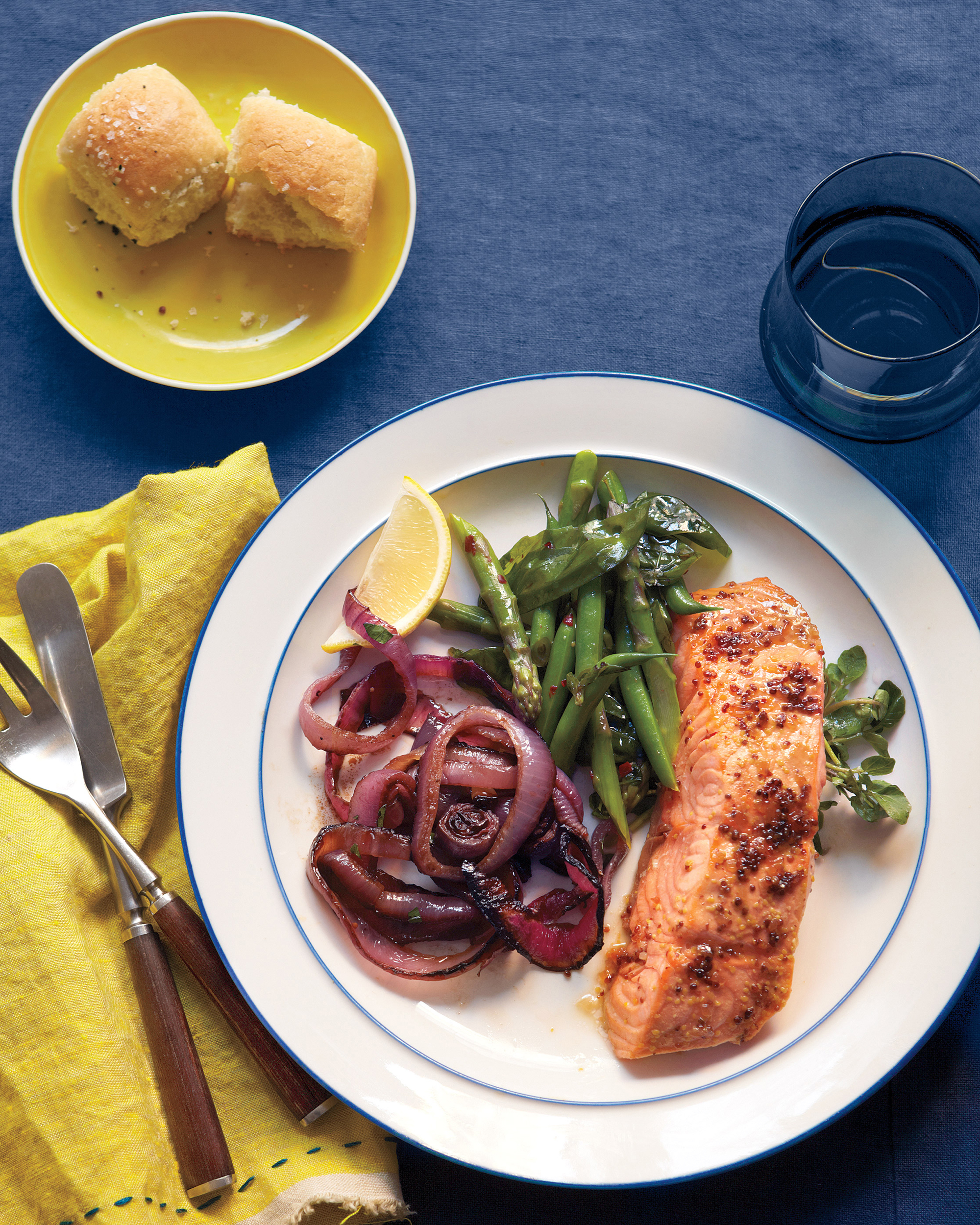 Salmon Shines in This Simple Easter Dinner for a Crowd