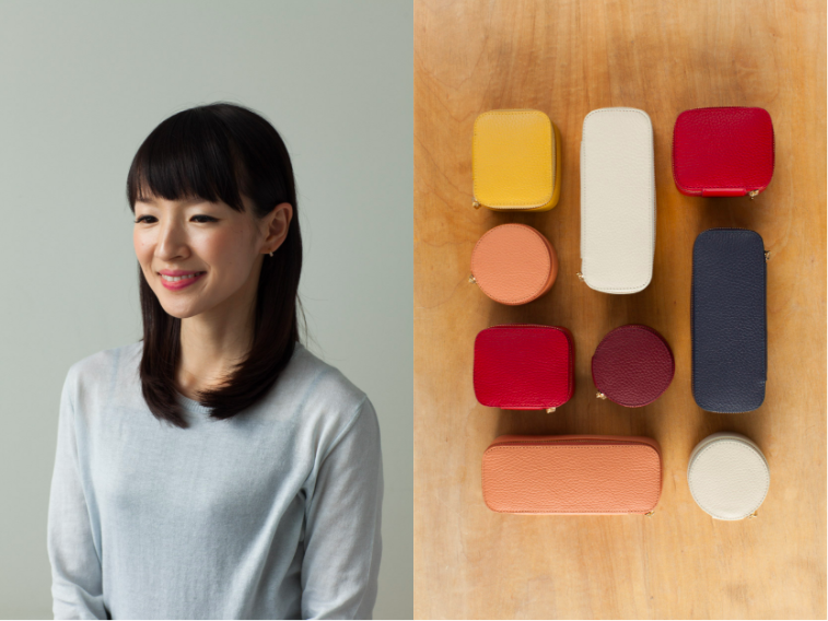 Marie Kondo and Cuyana jewelry cases