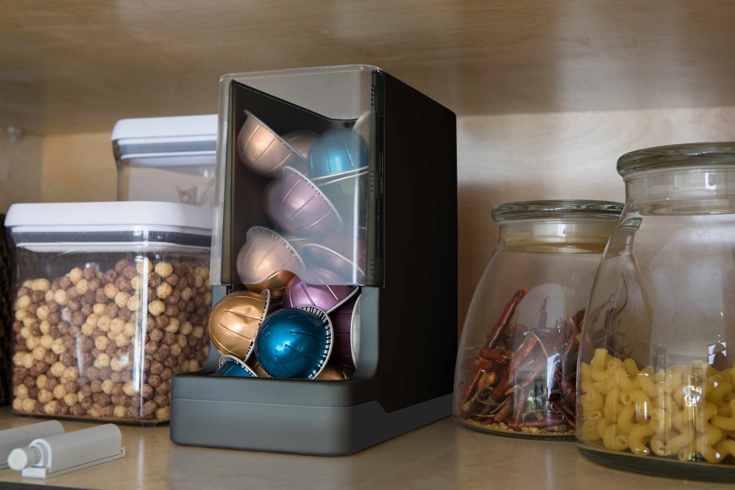 This Smart Pantry System Will Reorder Your Favorite Snacks For You