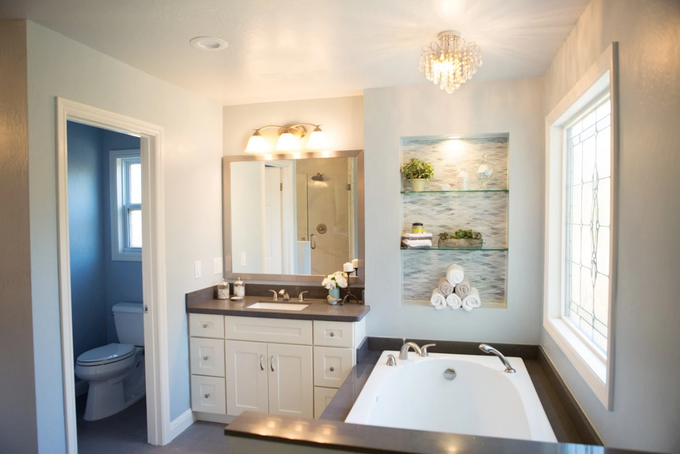 This Dated Bathroom Gets A Much Needed Upgrade