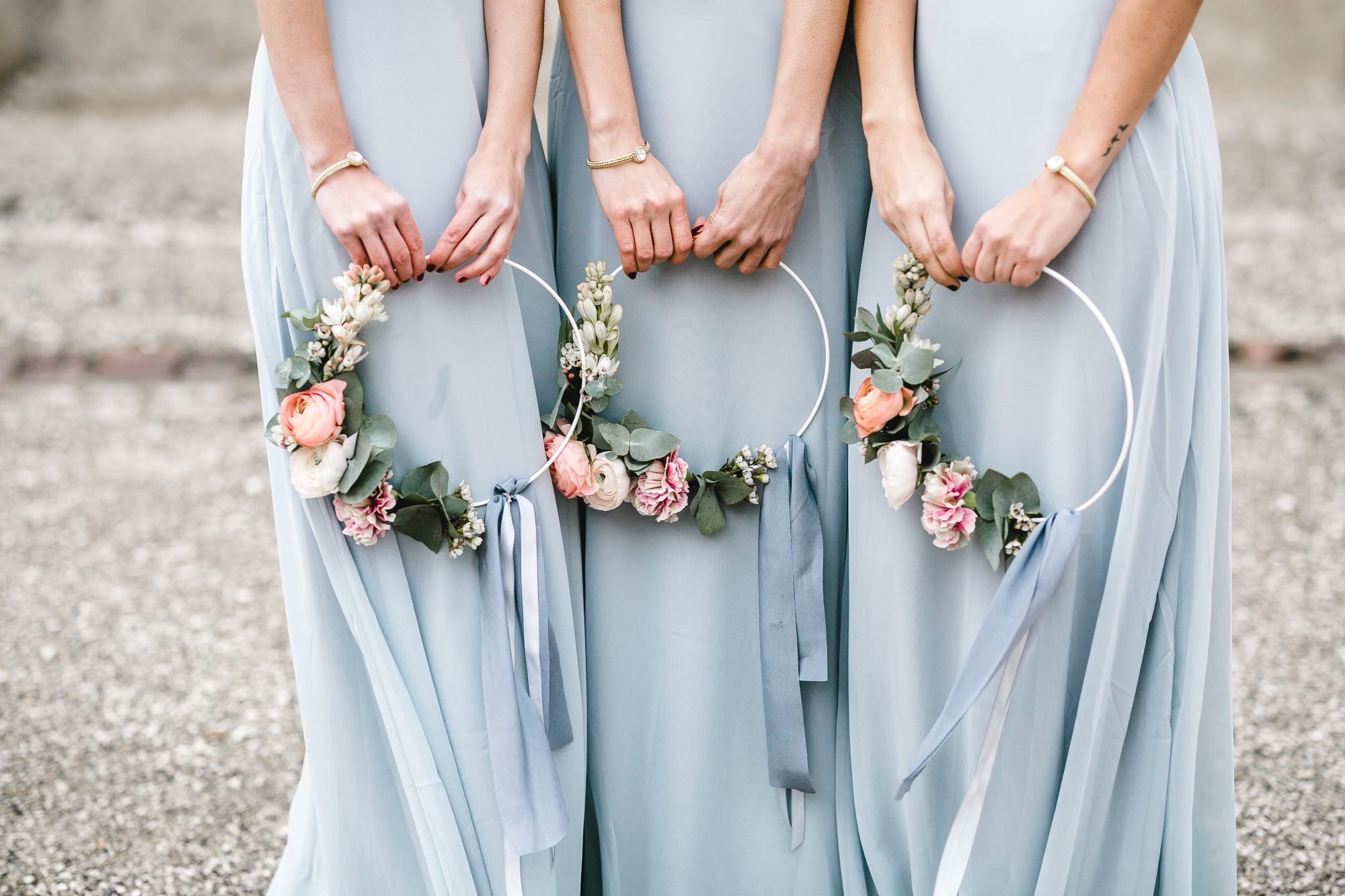 20 Hoop Bouquets Every Member of Your Bridal Party Will Love | Martha  Stewart