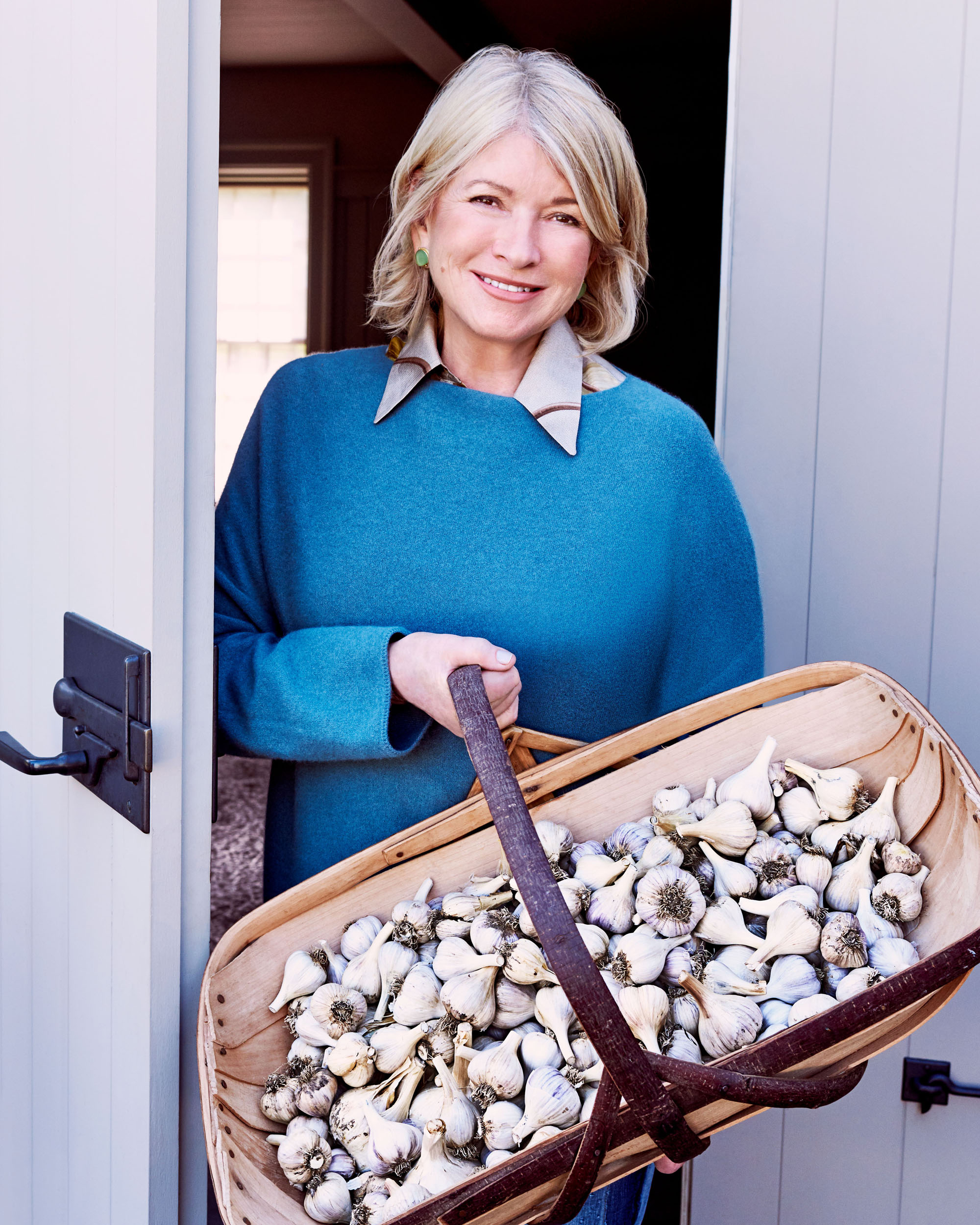 Check Out Martha's Garlic Harvest—and Cook Her Favorite Recipes!