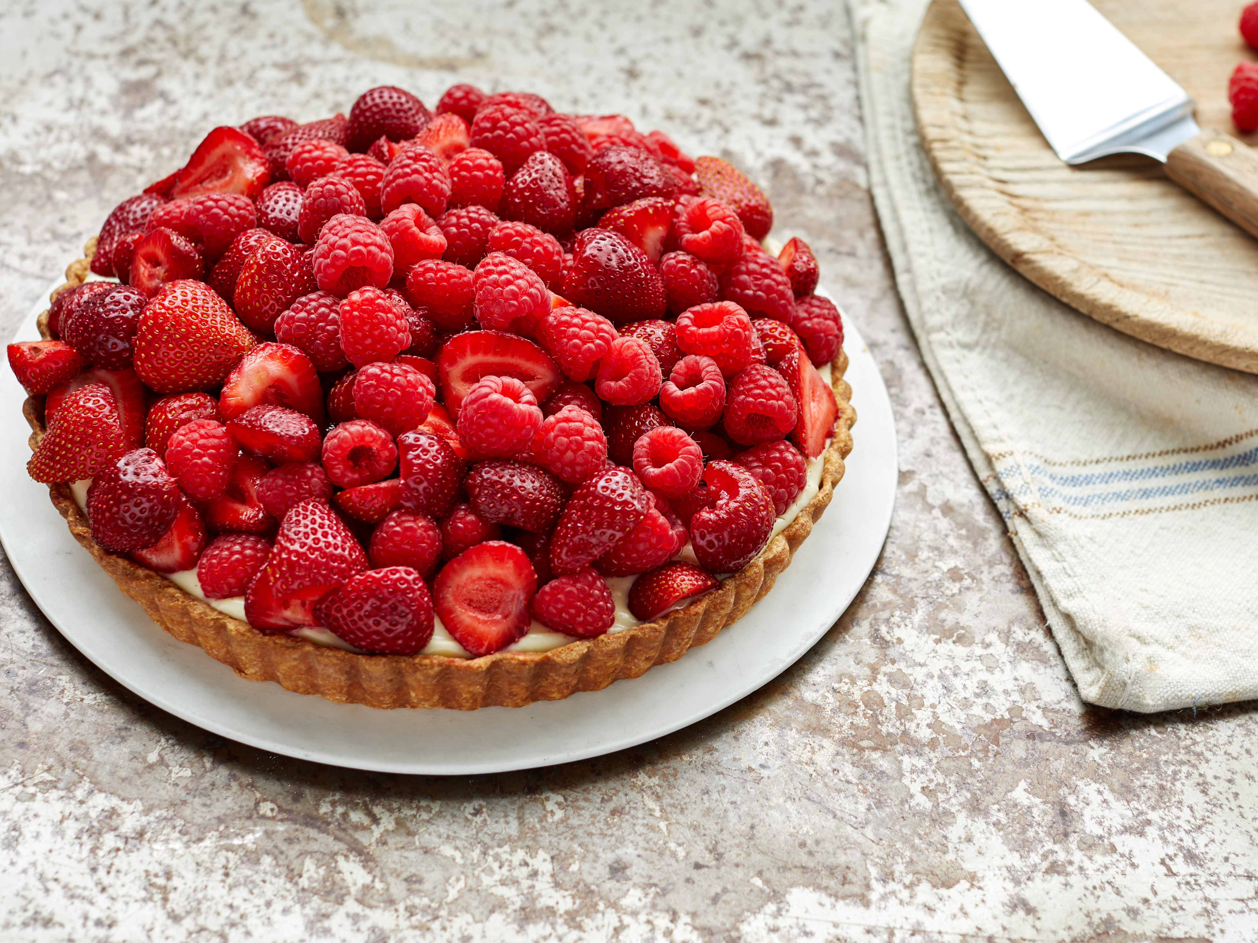 Martha's Fabulous Fruit Tart Makes the Most of Juicy Summer Berries