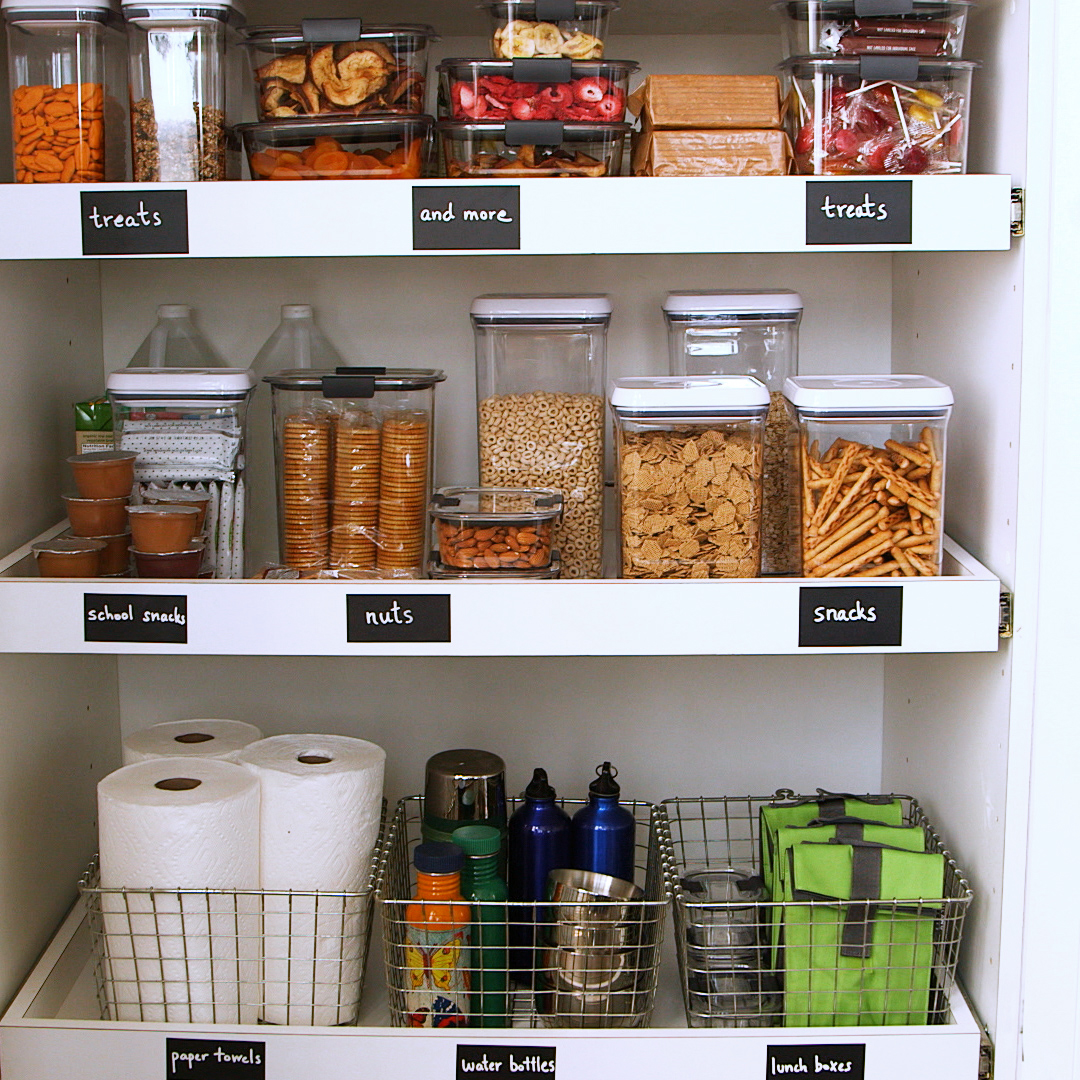 5 Tips to Organizing a Kid-Friendly Pantry