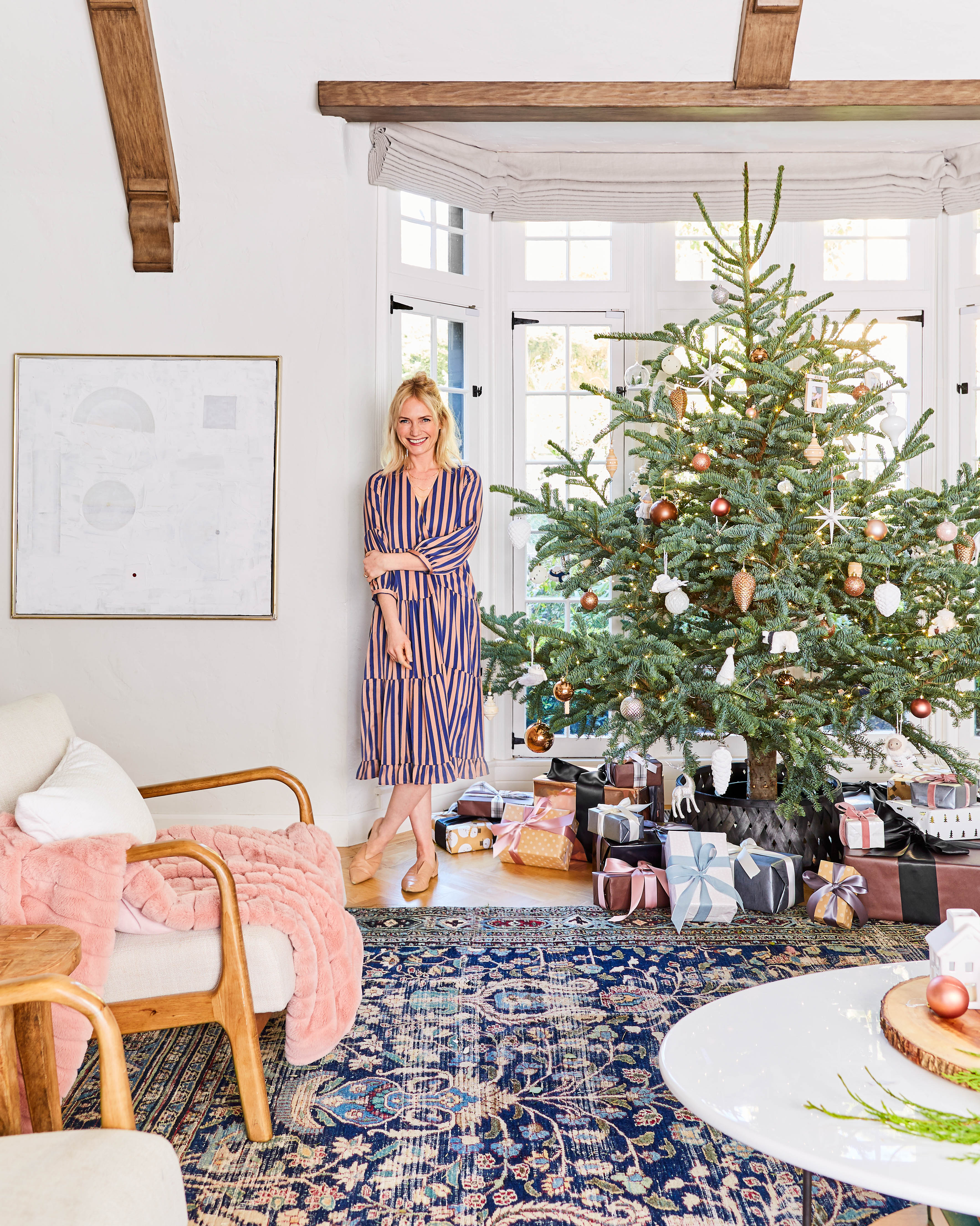 Exclusive: Designer Emily Henderson Reveals Her Gorgeous Neutral Holiday Decor