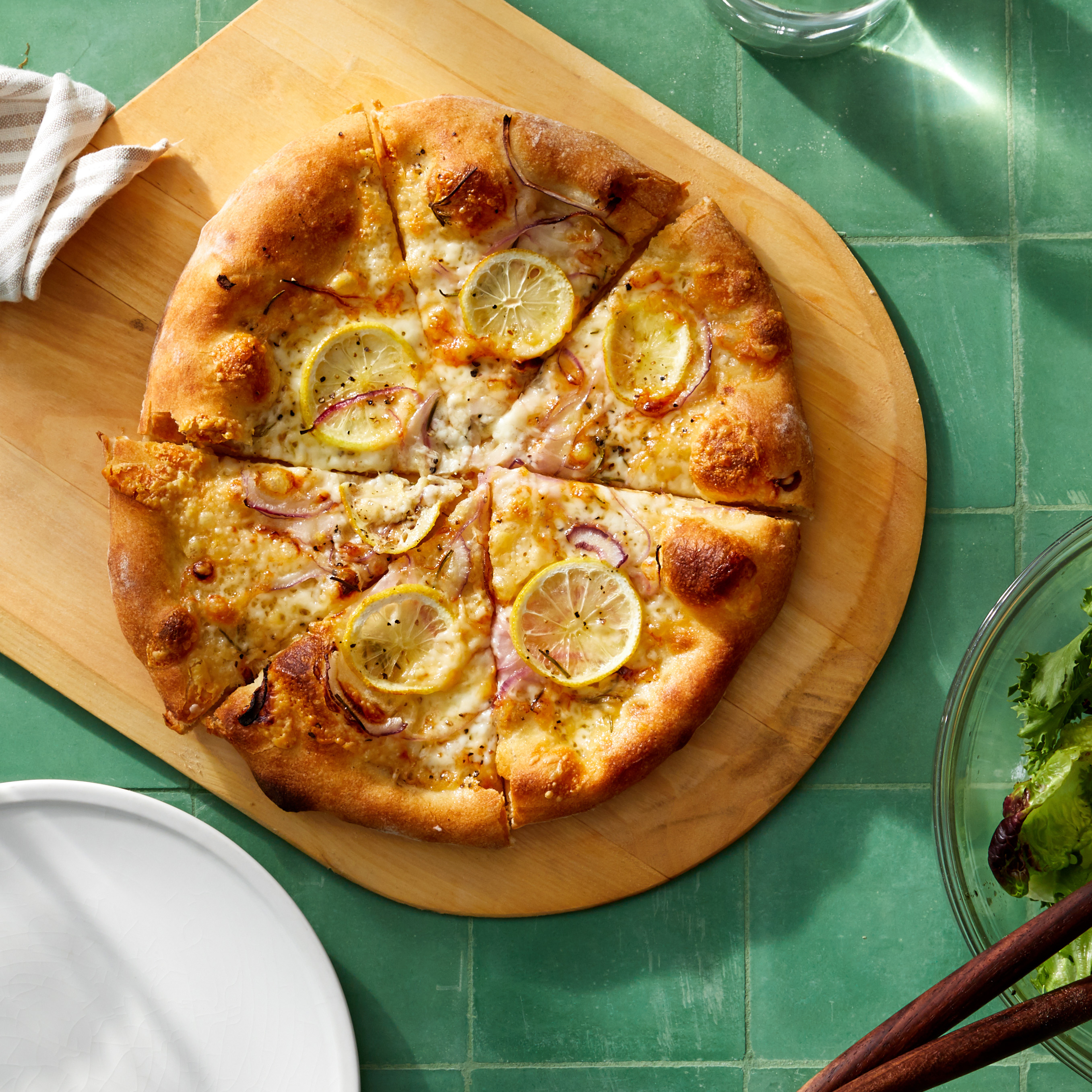 Lemons on Pizza? Martha Says Yes