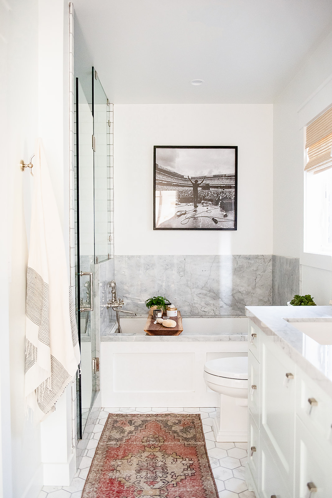 master bath marble pewter finishes and gavin rossdale picture