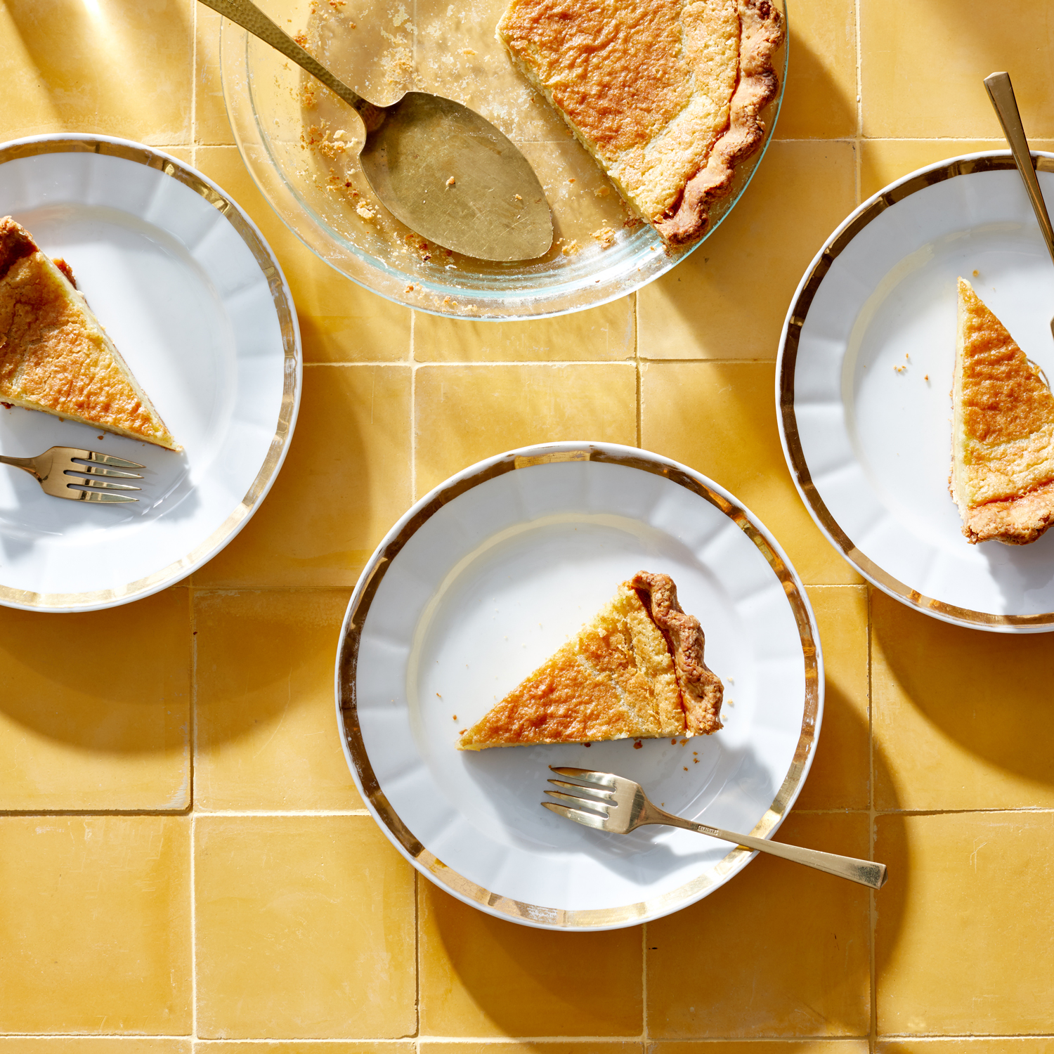 This Brilliant Buttermilk Pie Is Martha's New Favorite Southern Dessert