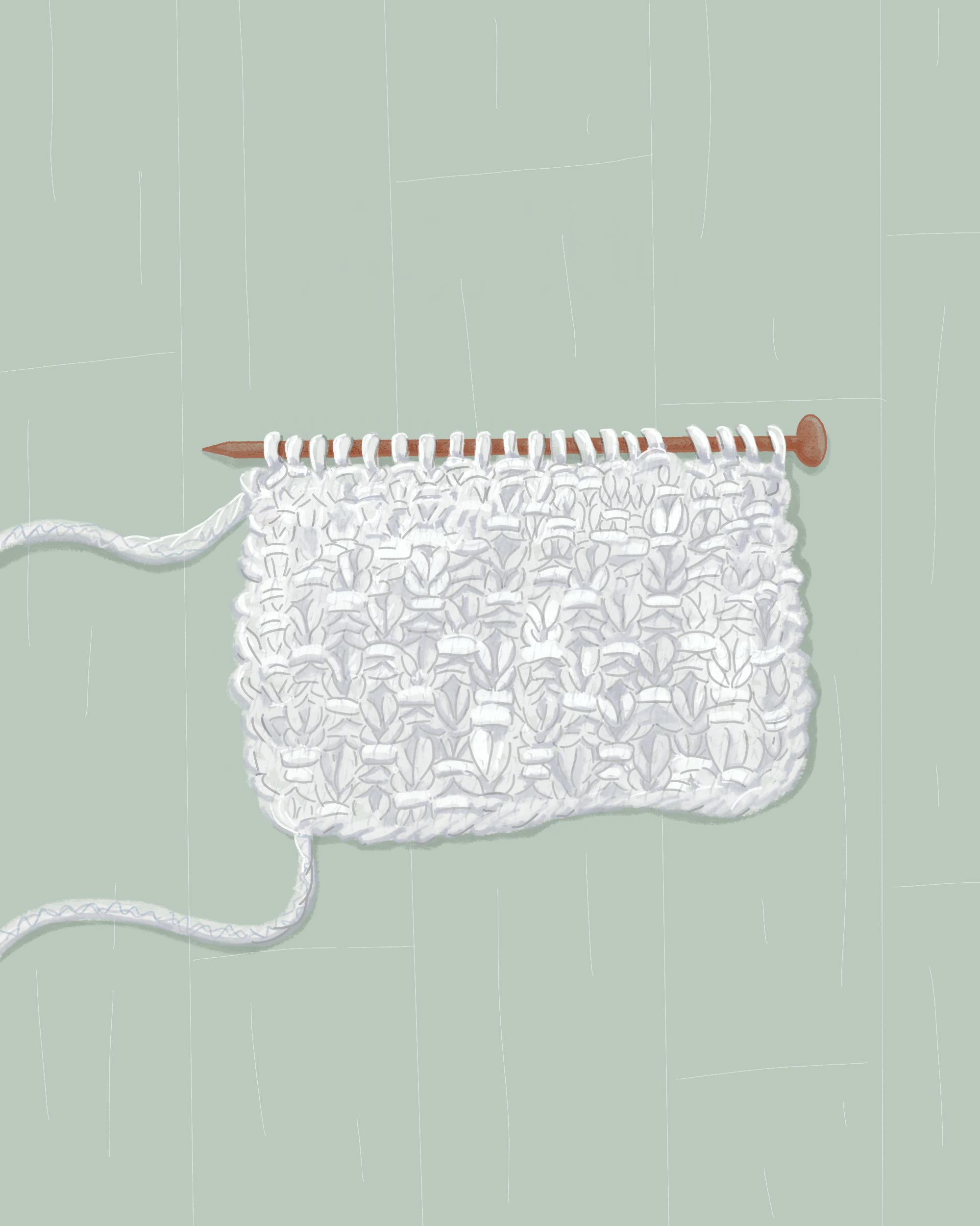 The Moss Stitch: What Is It and How Do I Knit It?