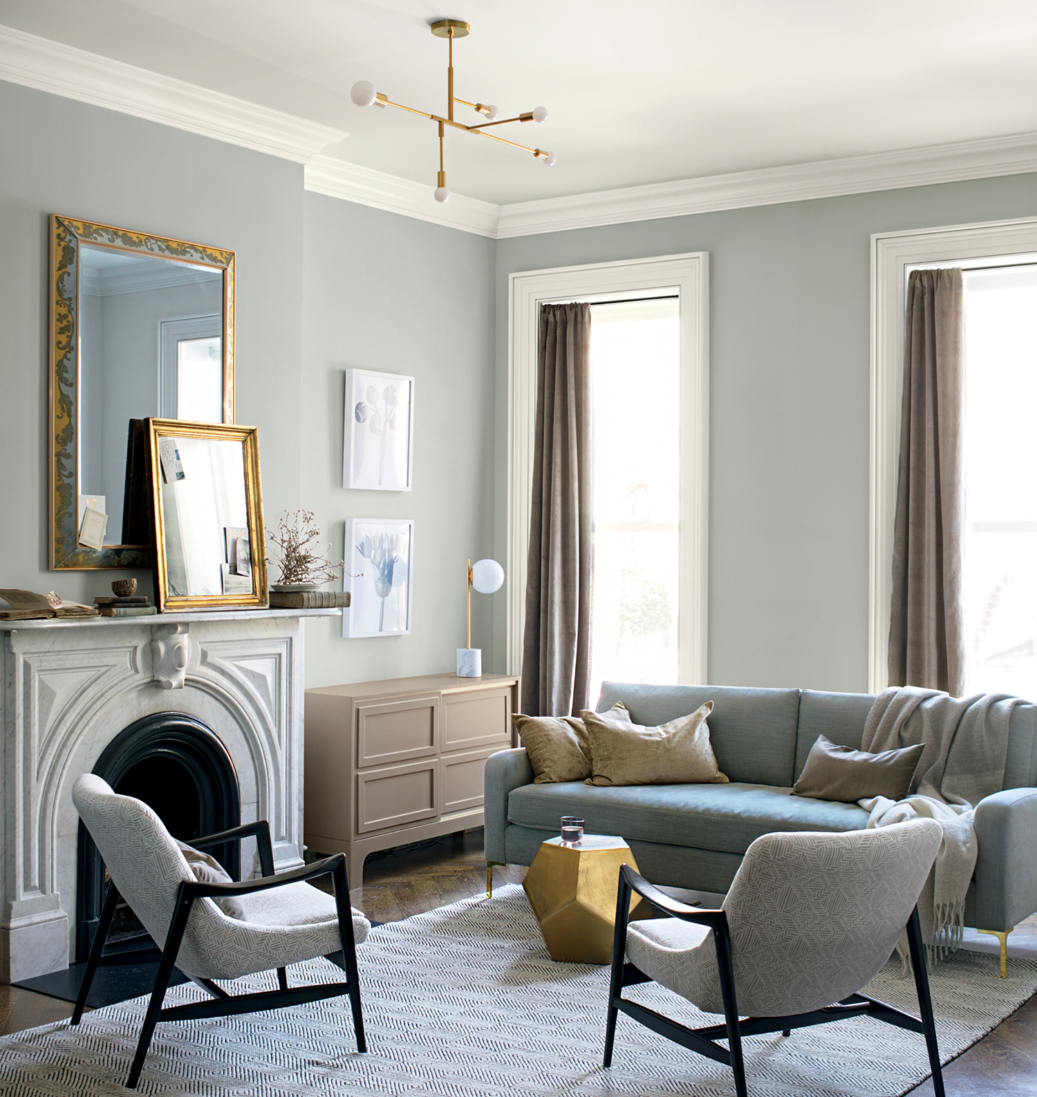 These Are The Most Popular Living Room Paint Colors For