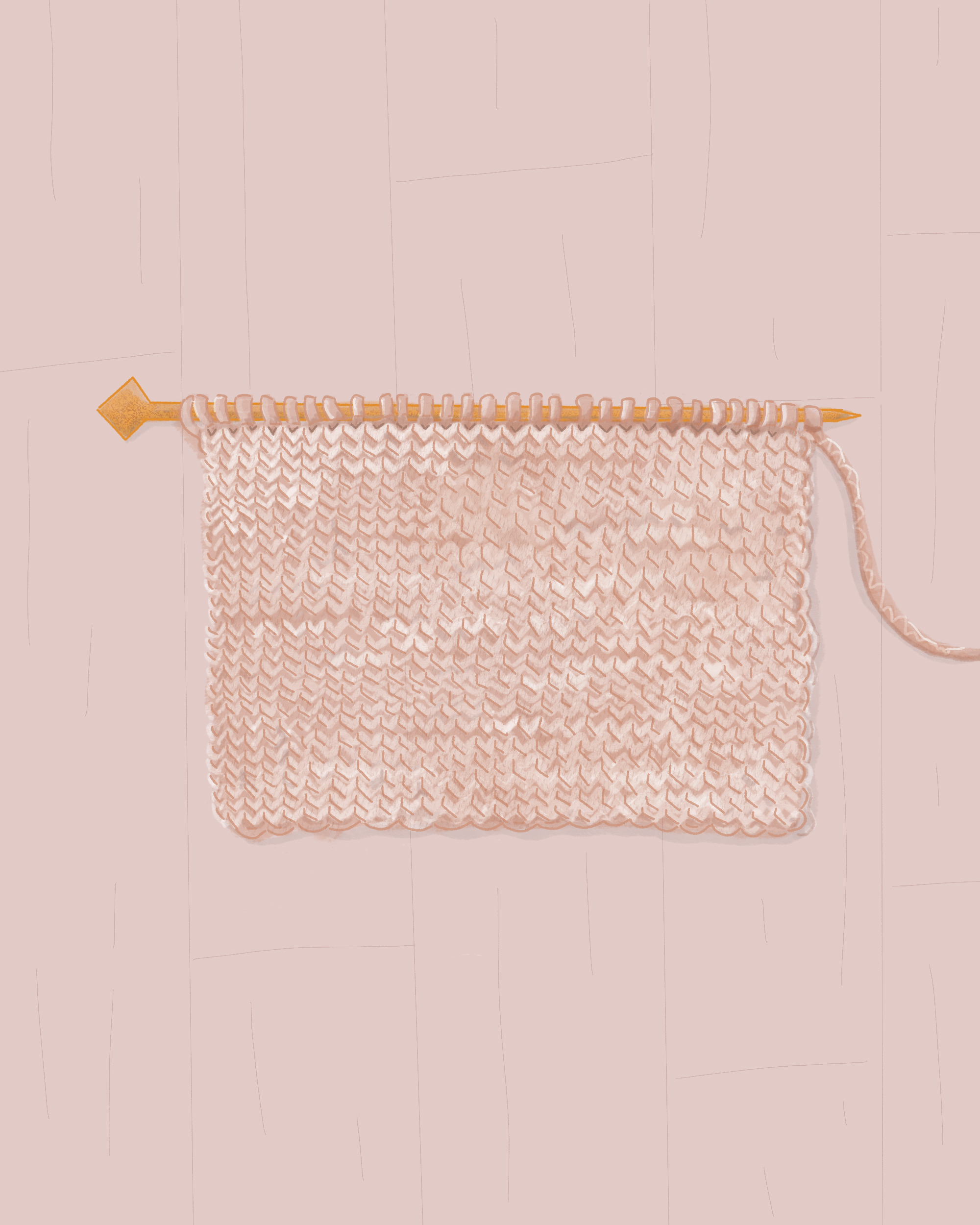The Stockinette Stitch: What Is It and How Do I Knit It?