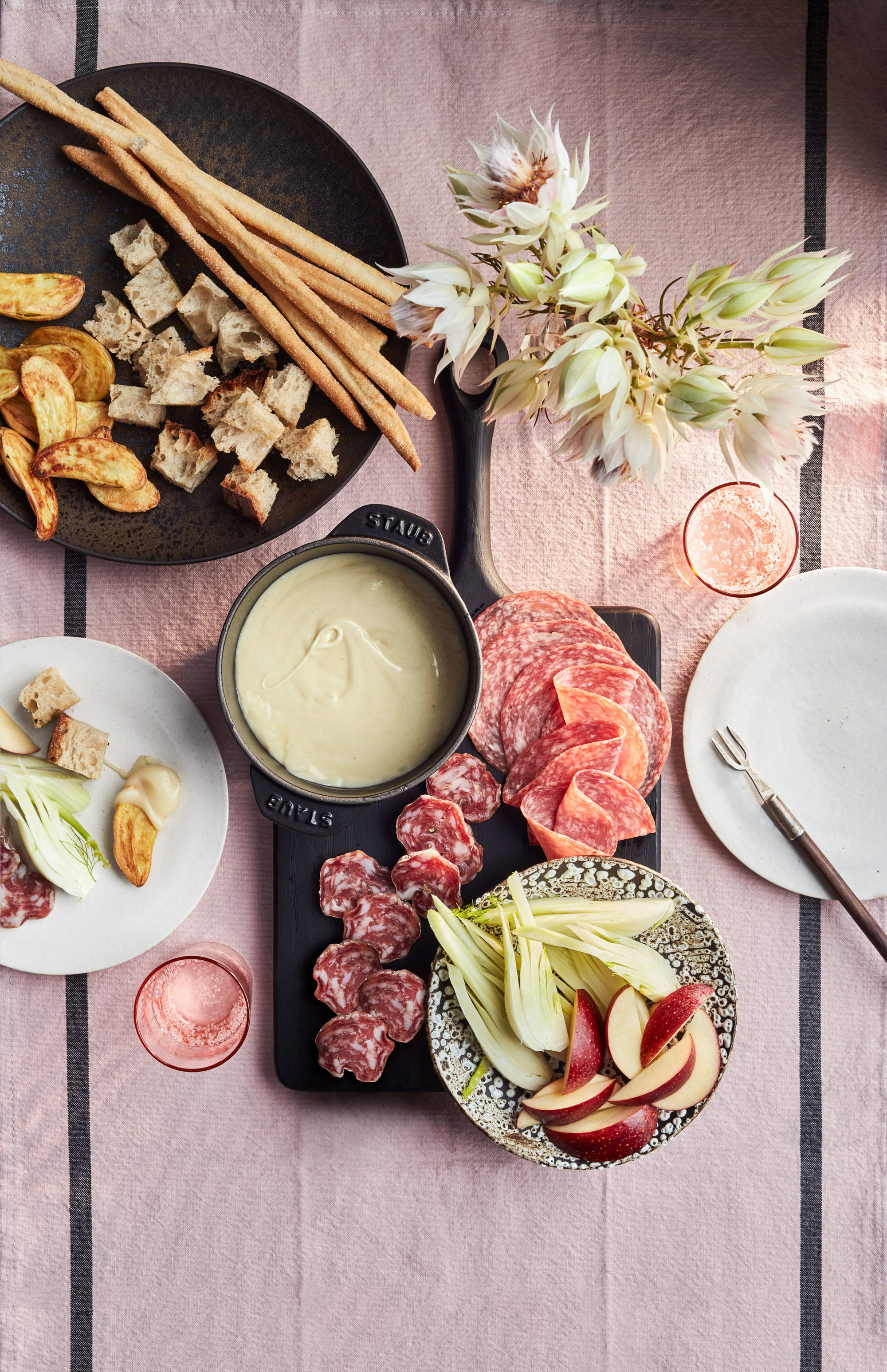 A Fabulous Valentine's Day Fondue Menu for Two