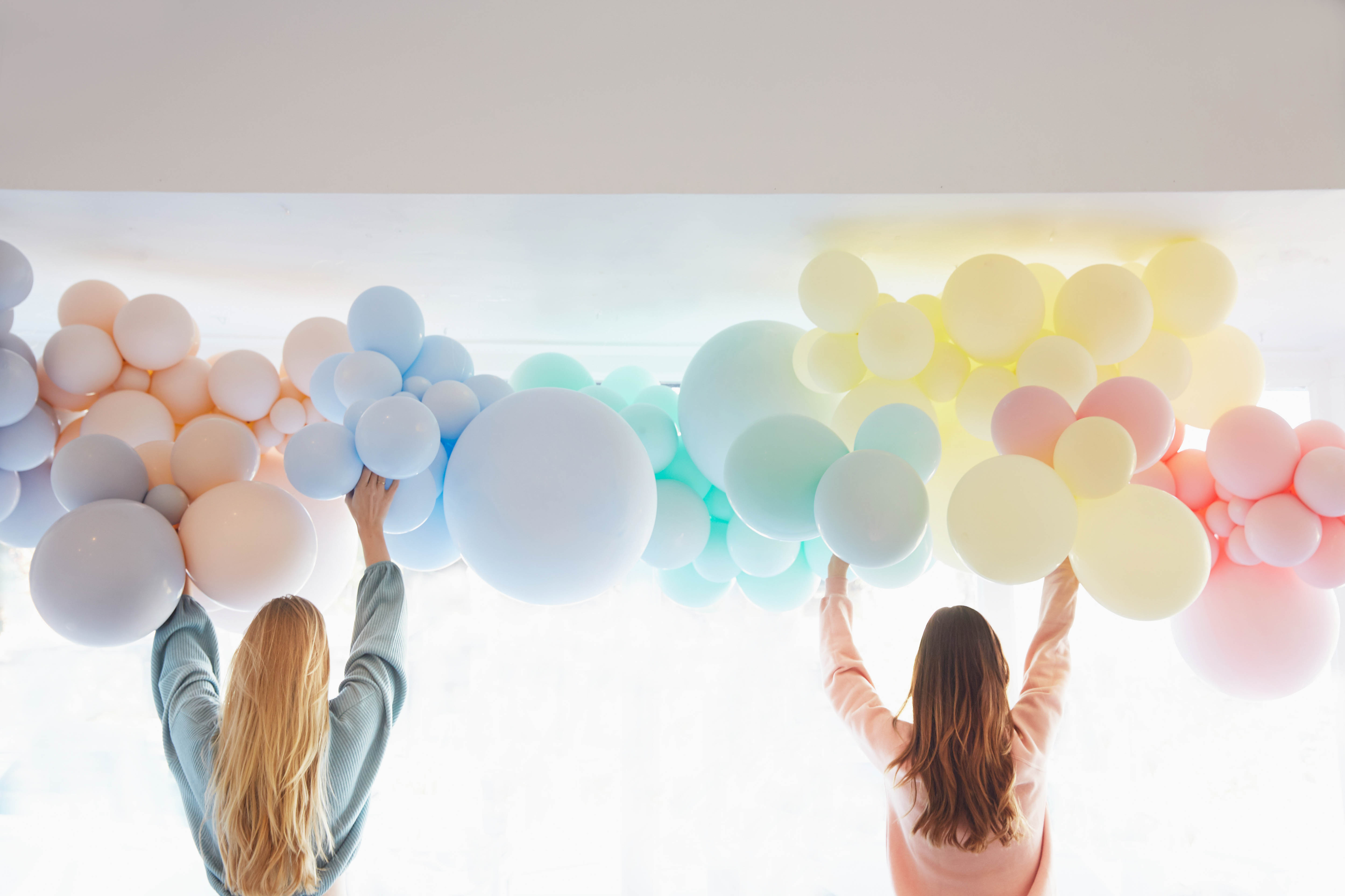 A Rainbow-Themed Baby Shower for One Mom-to-Be and Her Miracle