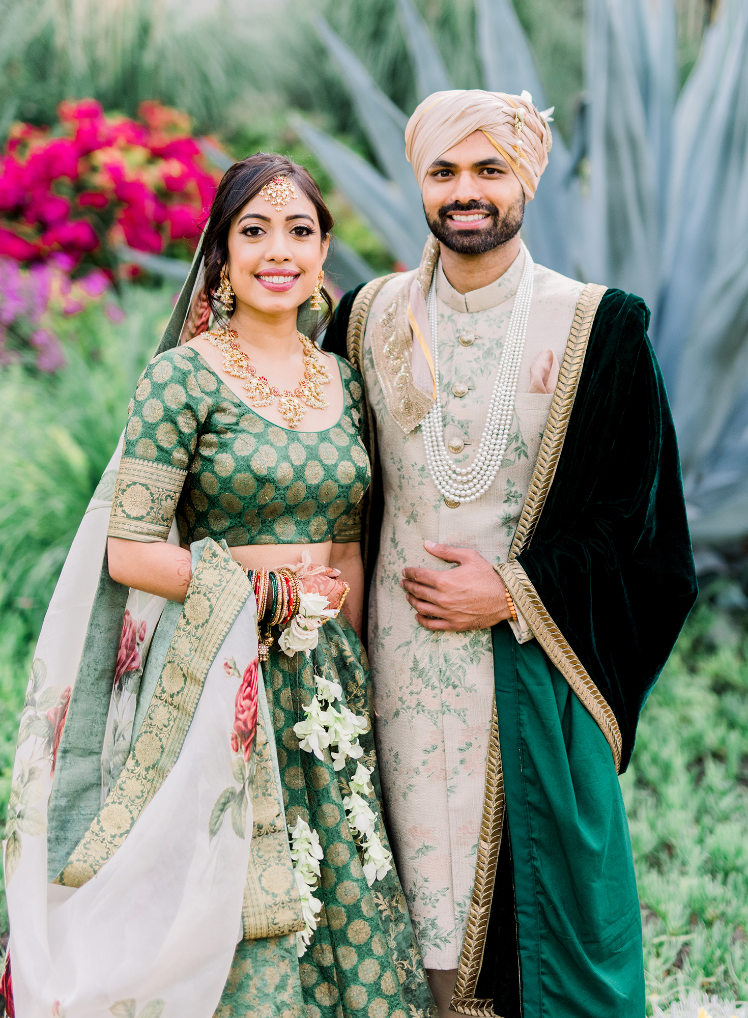 This Couple Planned A Colorful Indian Wedding In San Miguel Mexico Martha Stewart