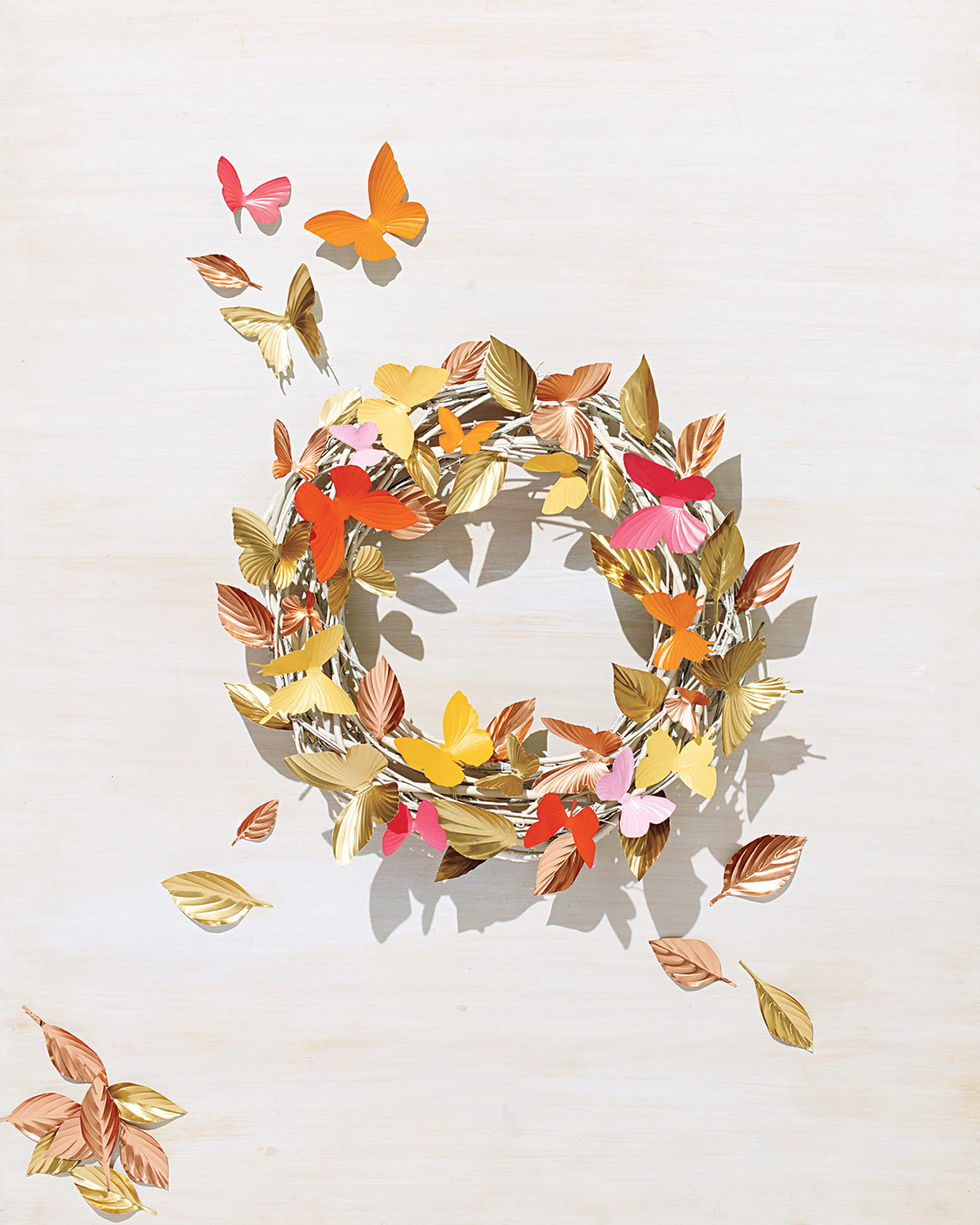 The Most Cheerful Spring Wreaths for Your Front Door Décor