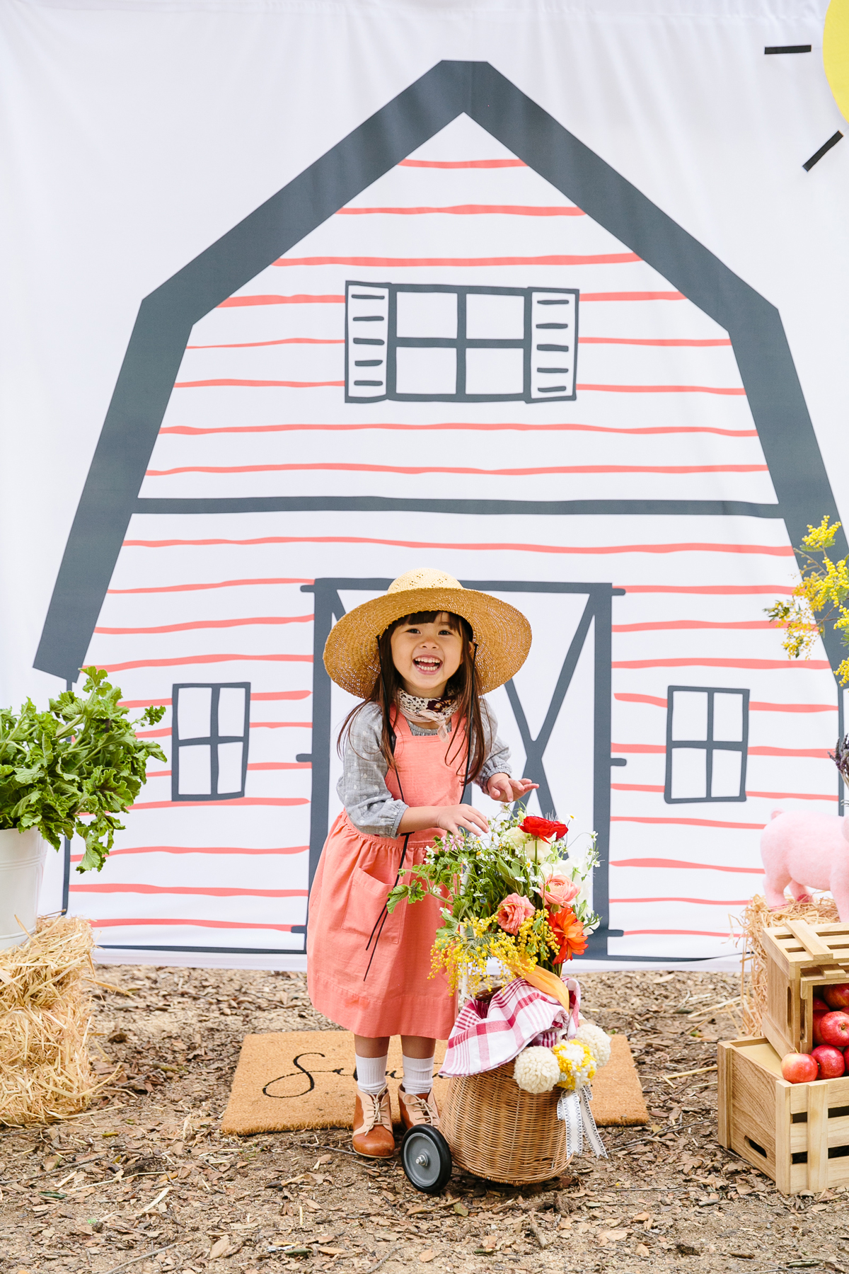 A  Charlotte's Web -Inspired Birthday Party That Celebrates Spring