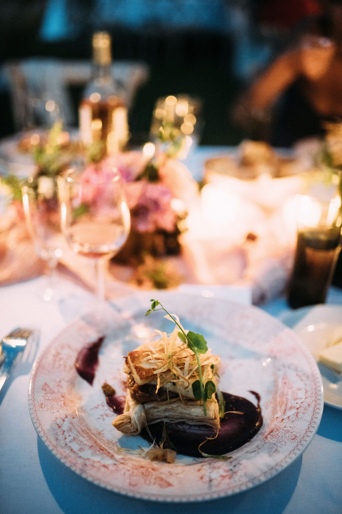 The Pros and Cons of Serving a Plated Wedding Meal | Martha Stewart