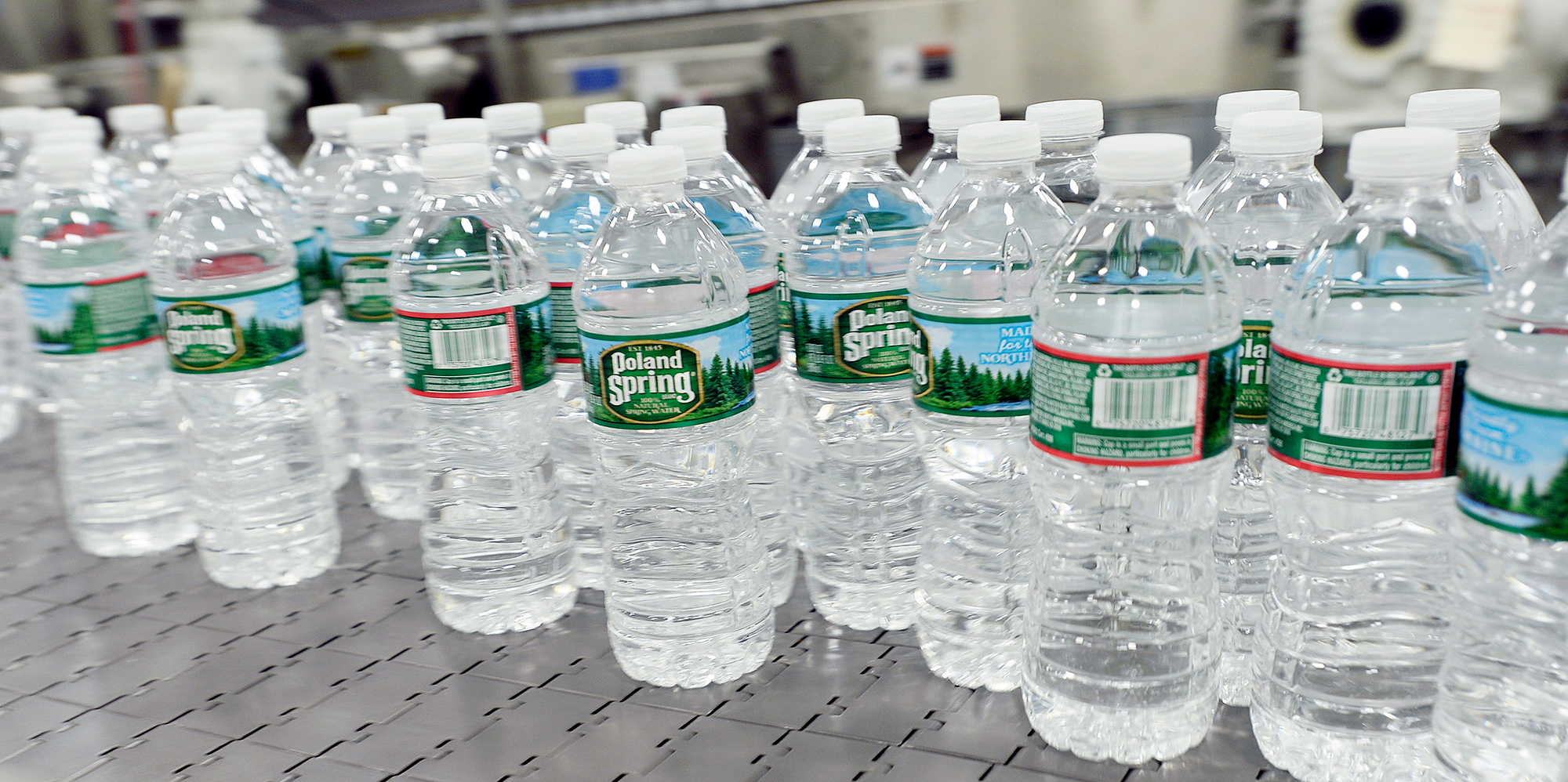 Poland Spring Will Soon Use Only Recycled Plastic to Make Their Water Bottles
