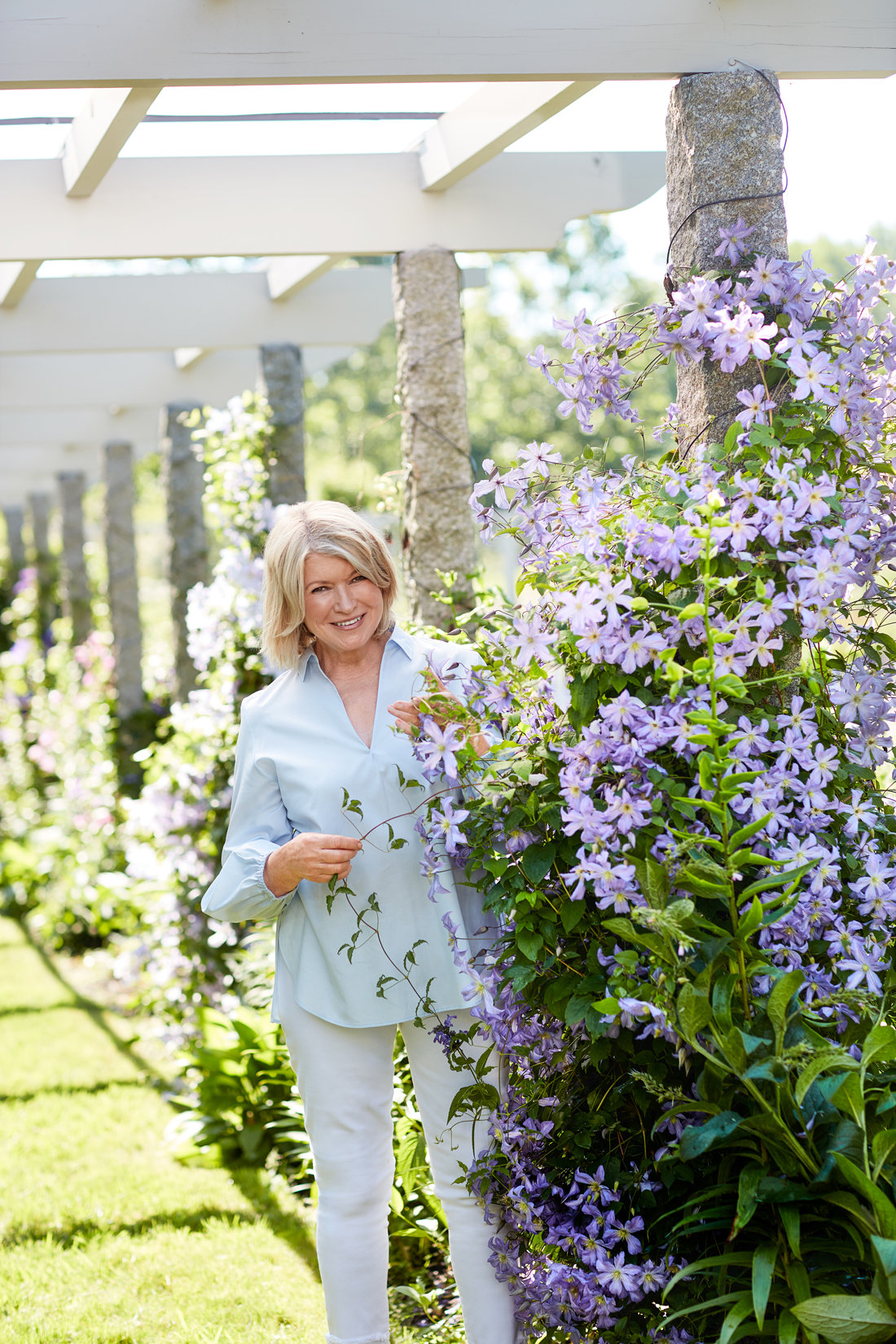 All About Martha's Border Garden, a Continual Show of Gorgeous Blooms