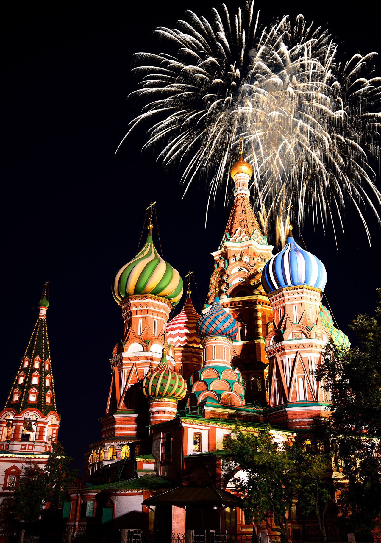 moscow russia new years