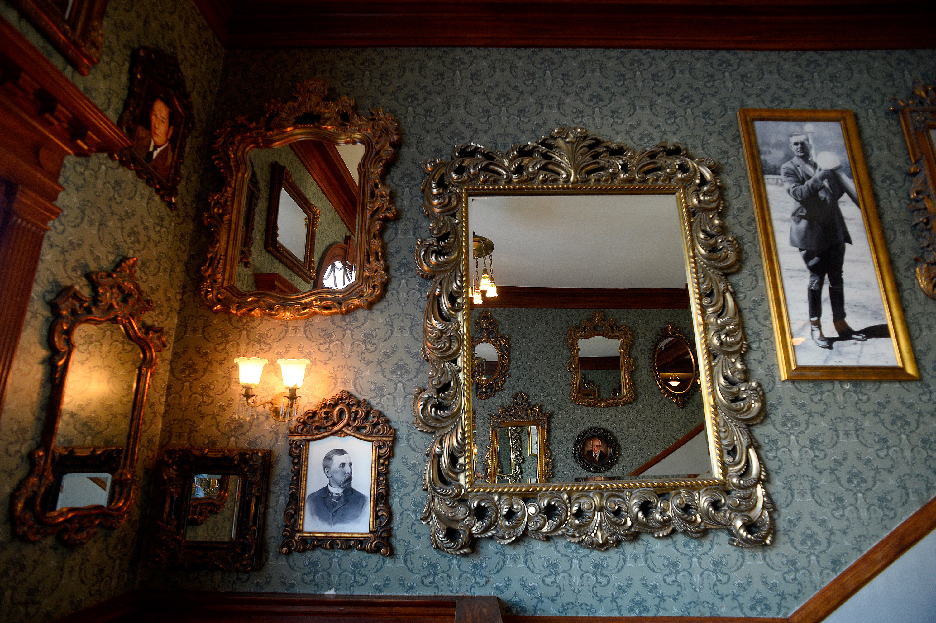 mirrors photos in Stanley Hotel