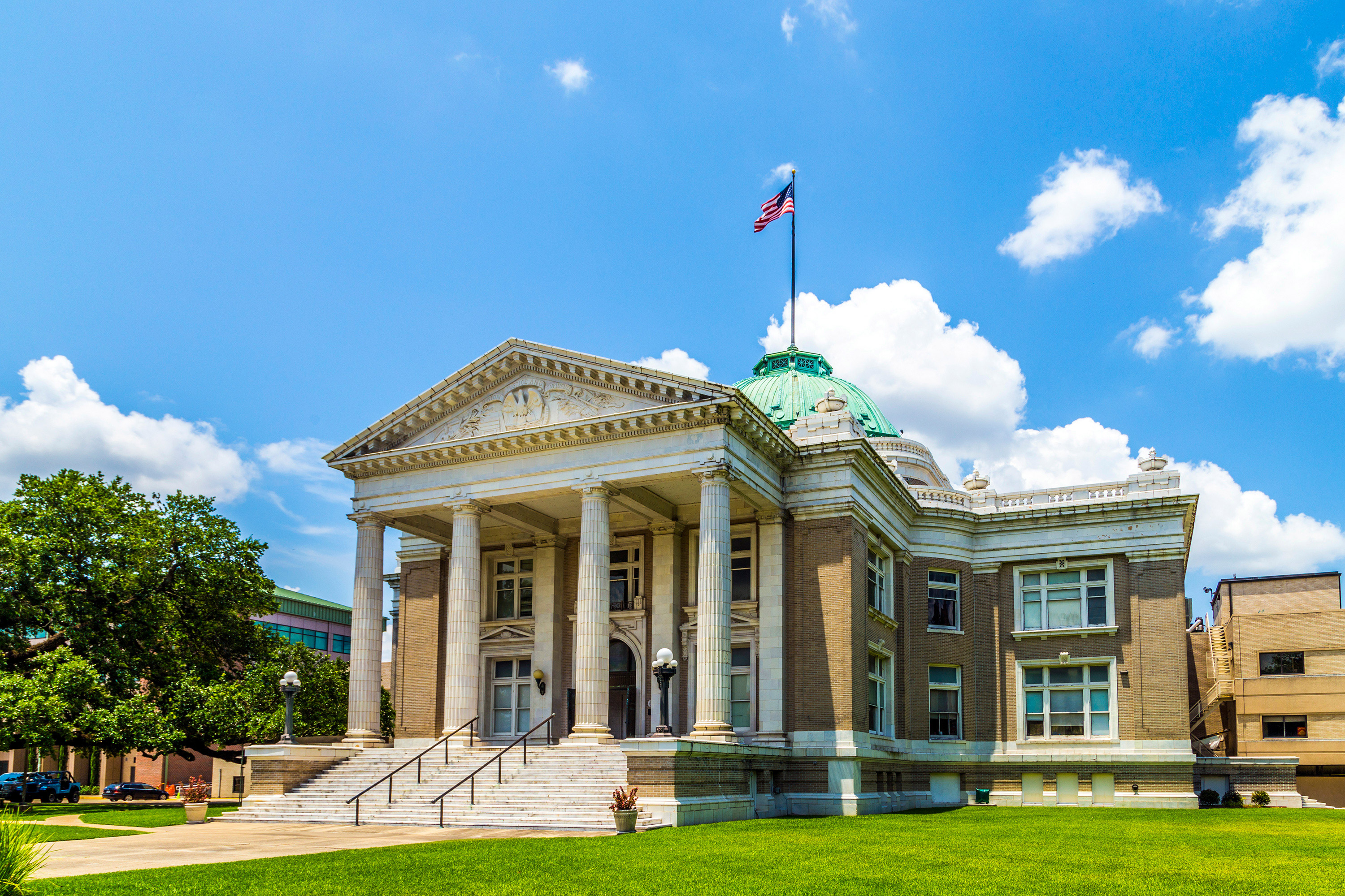 Lake Charles courthouse