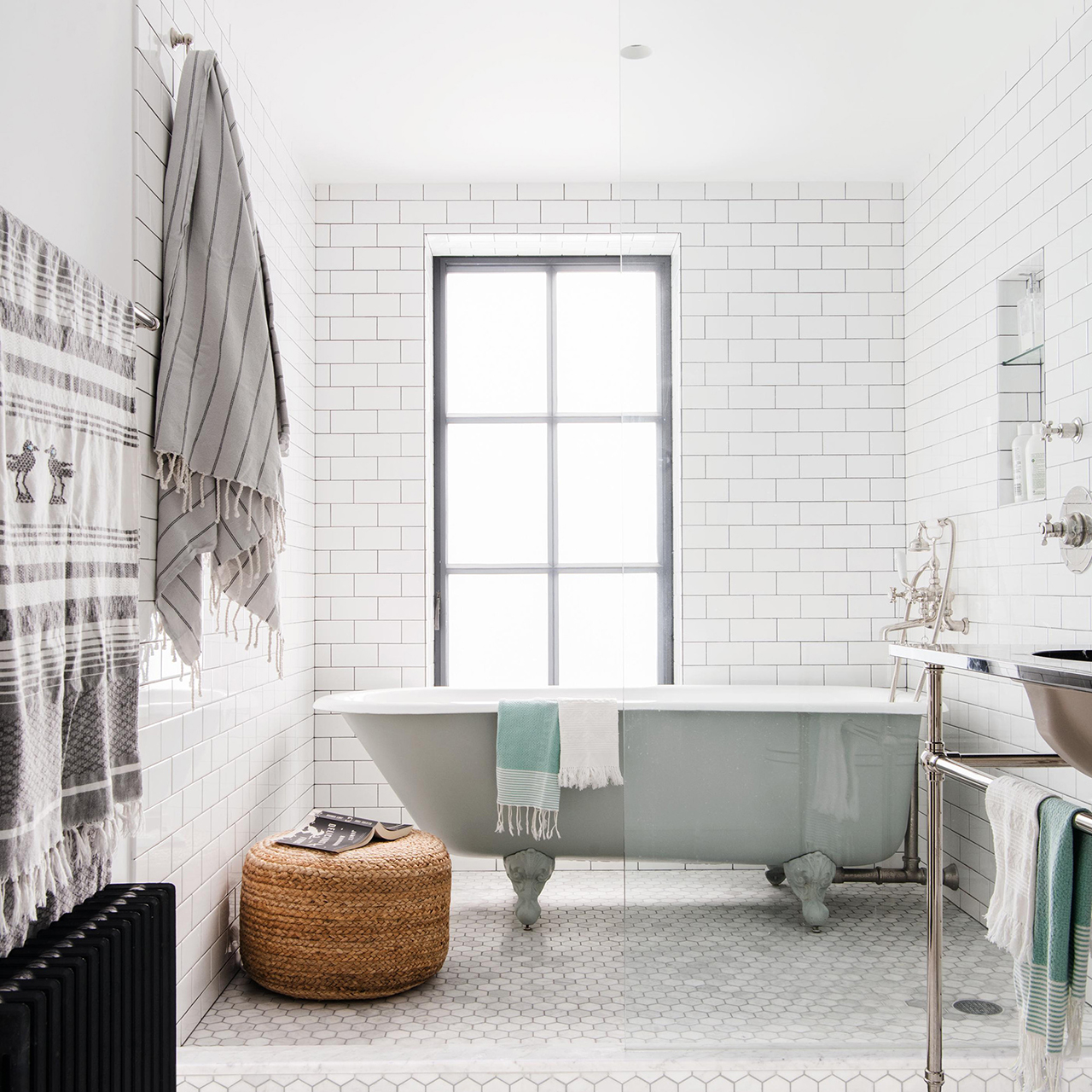 bathroom upgrades subway tiles