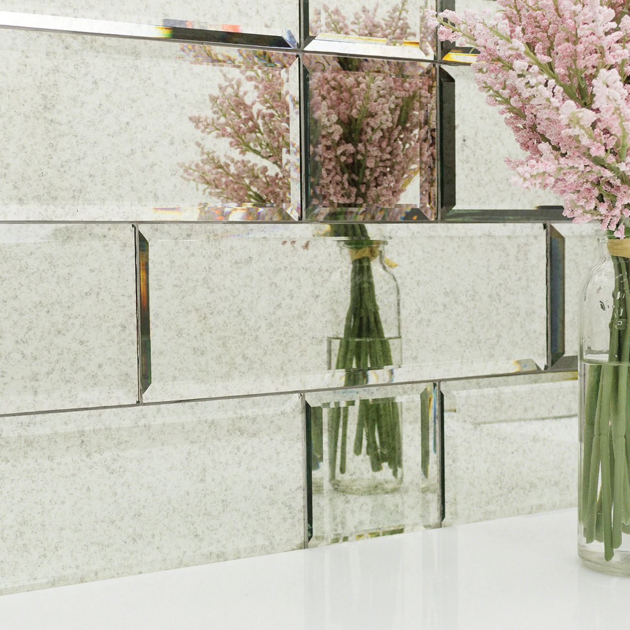 tile glass wall