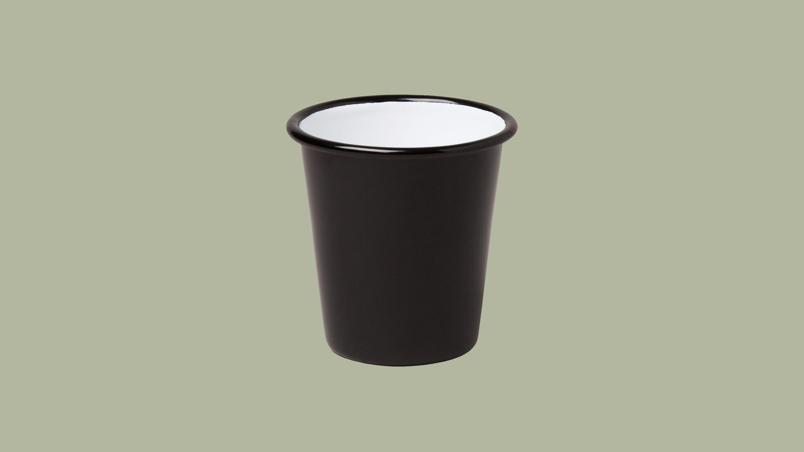 Falcon Enamelware Black Kid Proof Tumblers