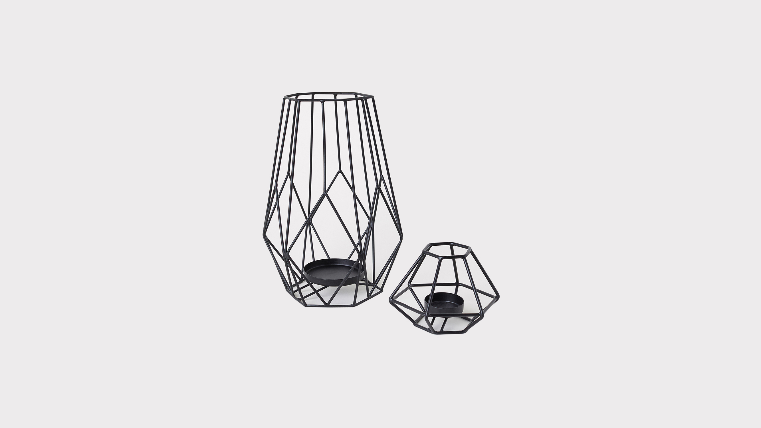 H&M Geometric Tea Light Holder
