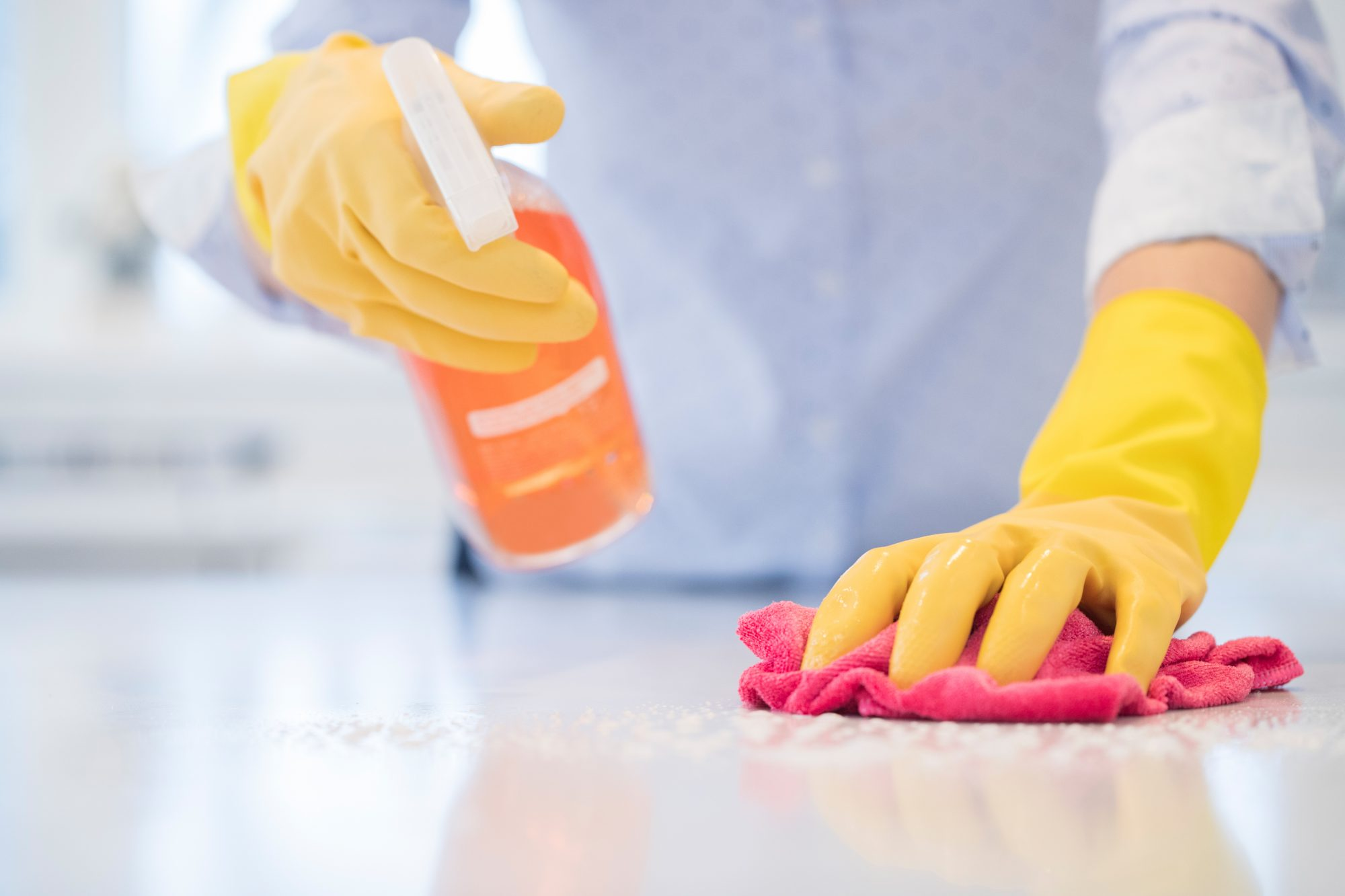 What Are the Differences Between Cleaning, Sanitizing, and Disinfecting? | Martha Stewart