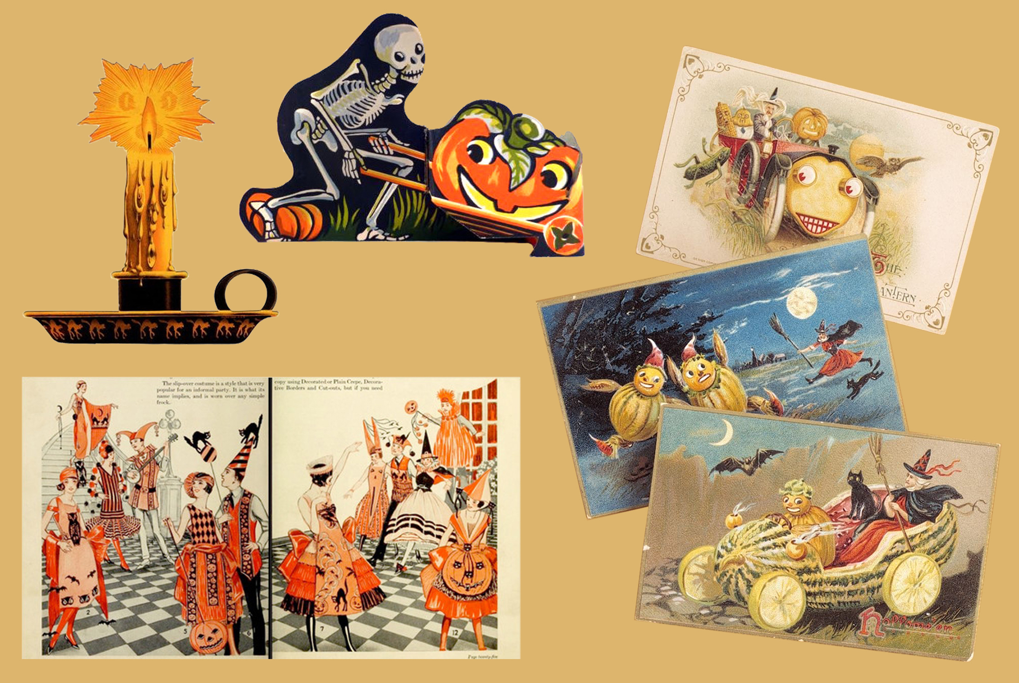 A Guide to Collecting Vintage Halloween Decorations